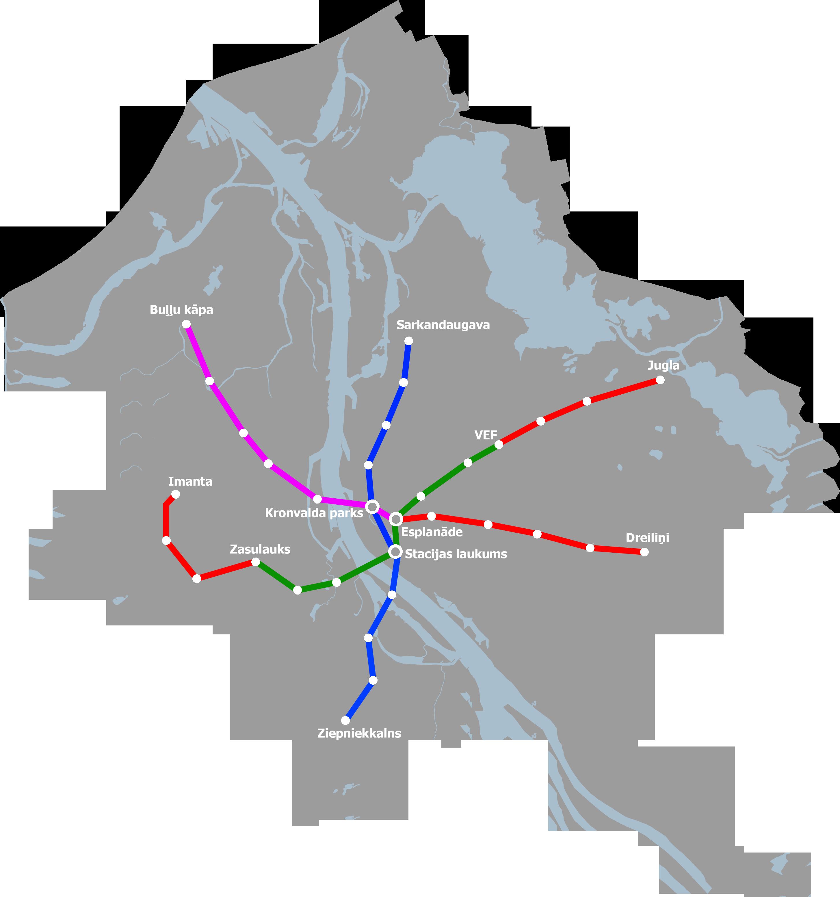 Riga Subway Map.Riga Metro Wikipedia