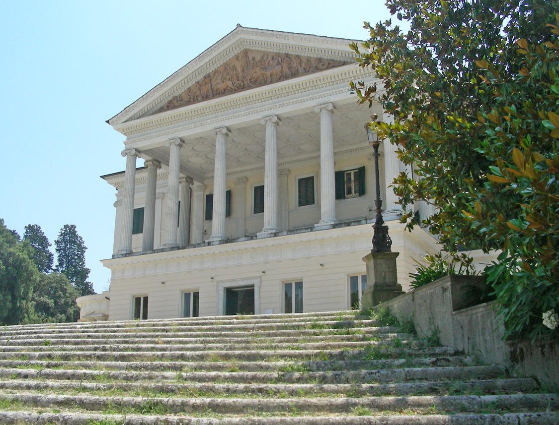 Residenza di mussolini a villa torlonia wikipedia for Cagnoni arredamento