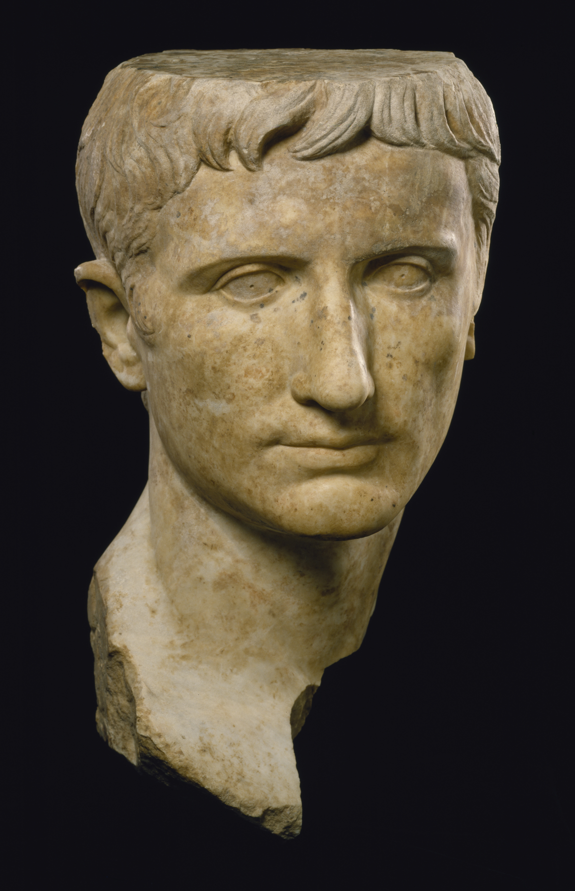 a biography of roman emperor augustus The senate bestowed upon octavian the title caesar augustus during the  constitutional settlement of 27 bc four years later augustus and the.