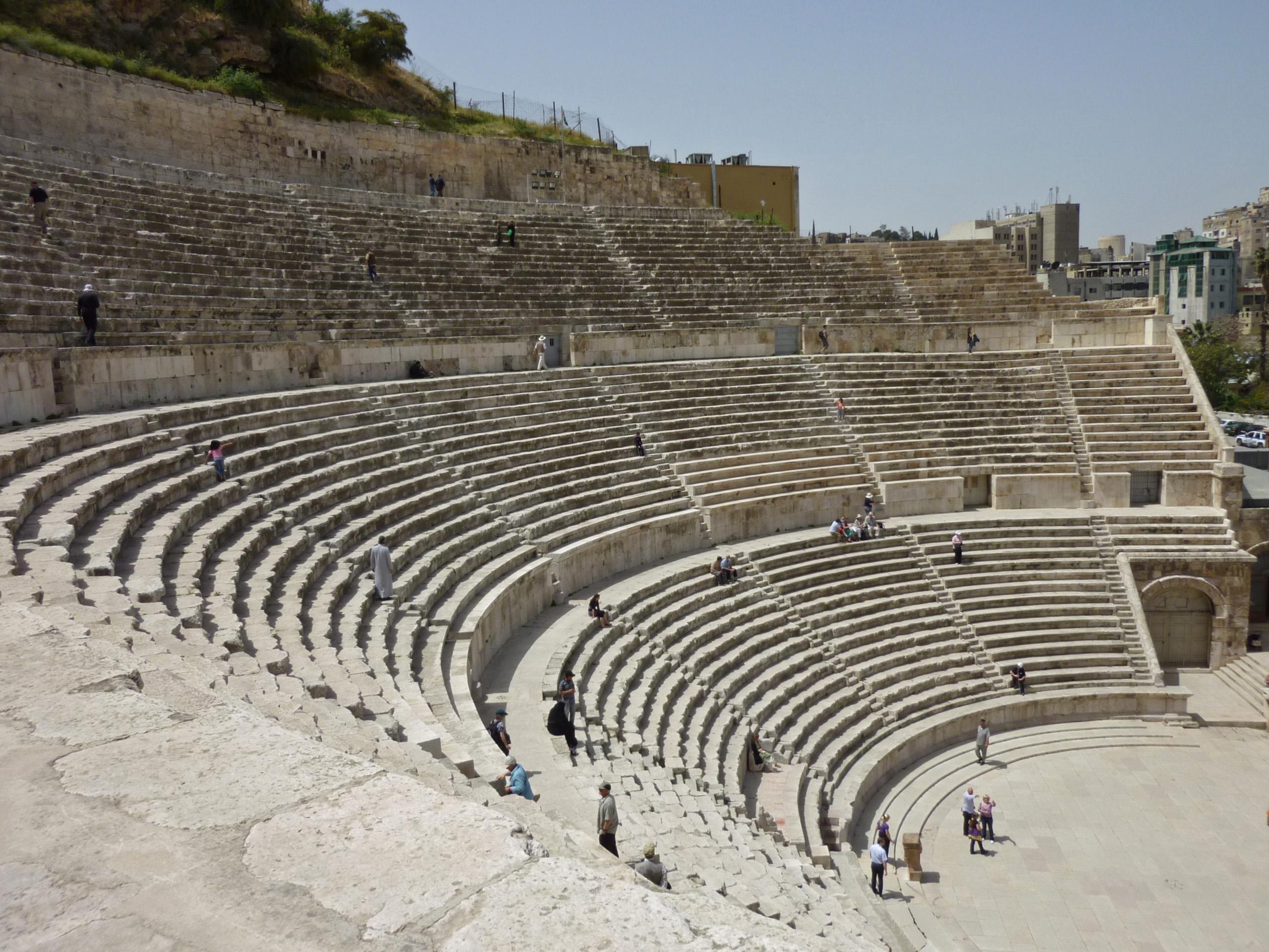 List of Roman theatres