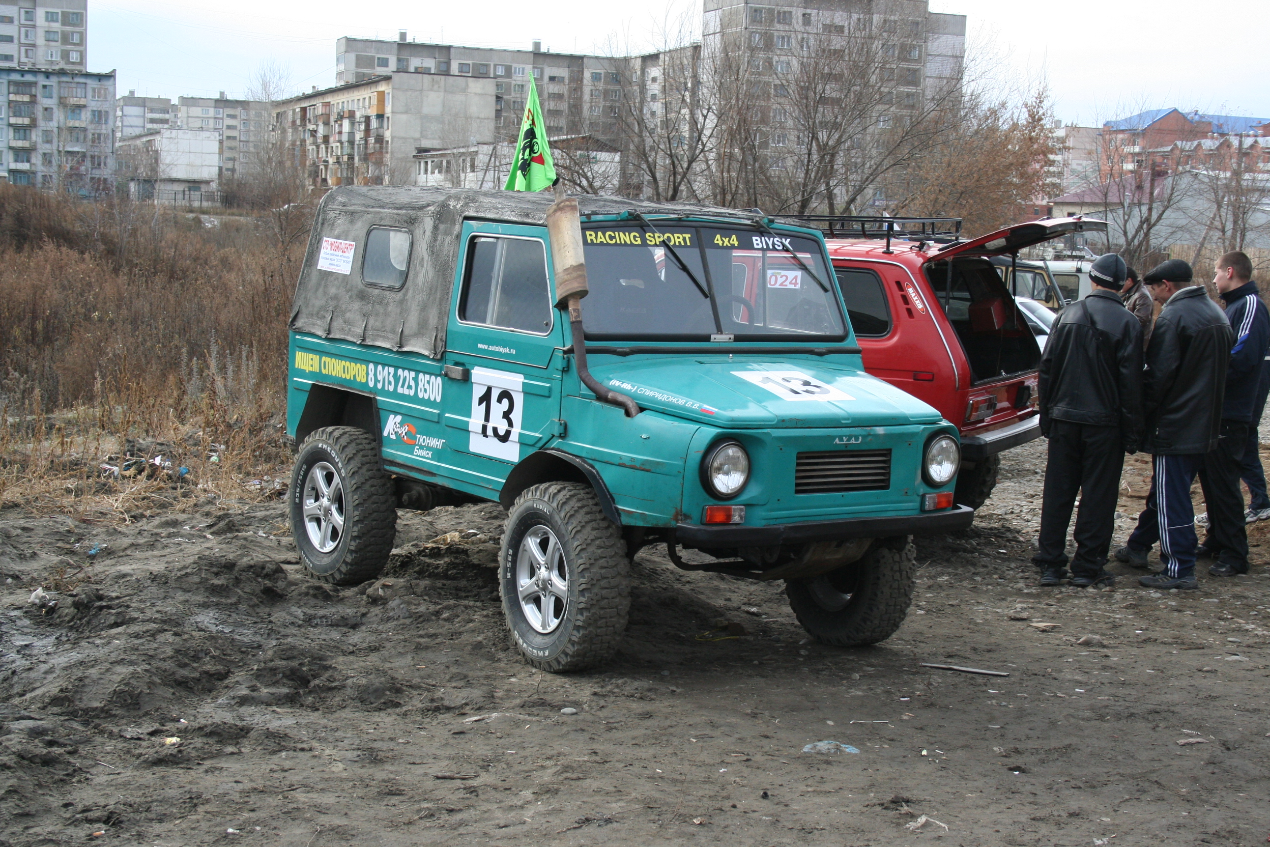File russian off road car luaz after tuning g