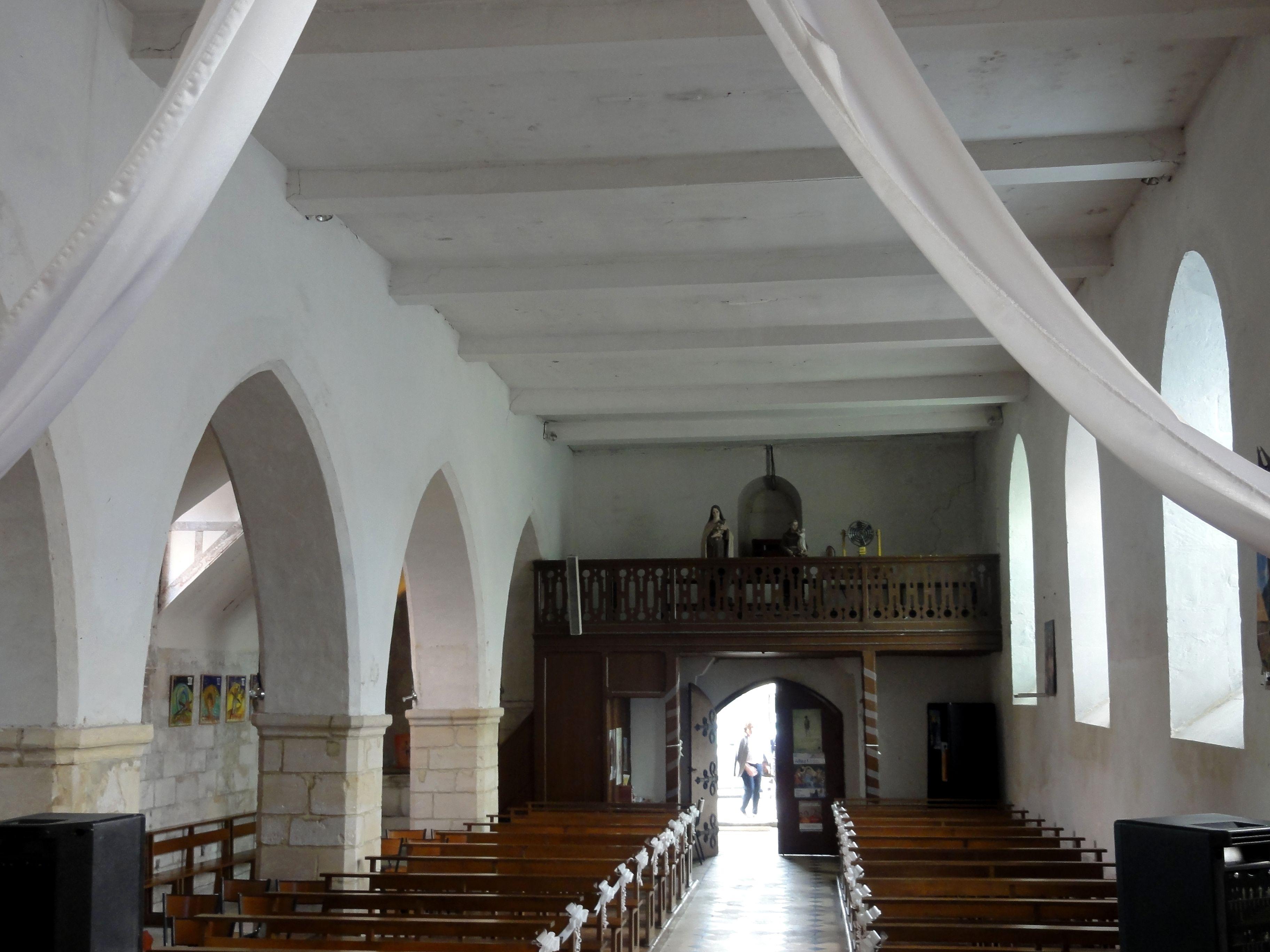 fichier saint maximin 60 glise st maximin nef vue depuis la crois e du transept. Black Bedroom Furniture Sets. Home Design Ideas