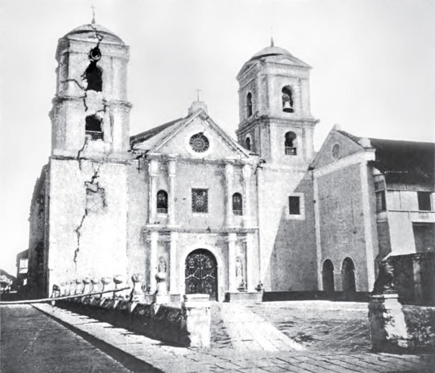 San Agustin Church Manila Drawing San Agustin Church in Manila