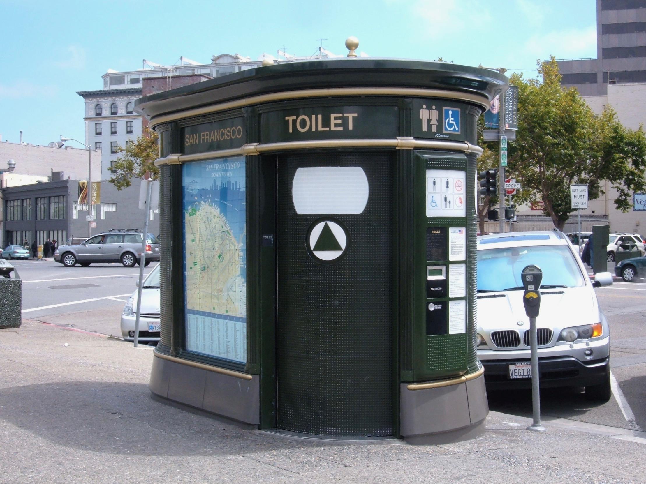 Public Toilets San_Francisco_public_toilet