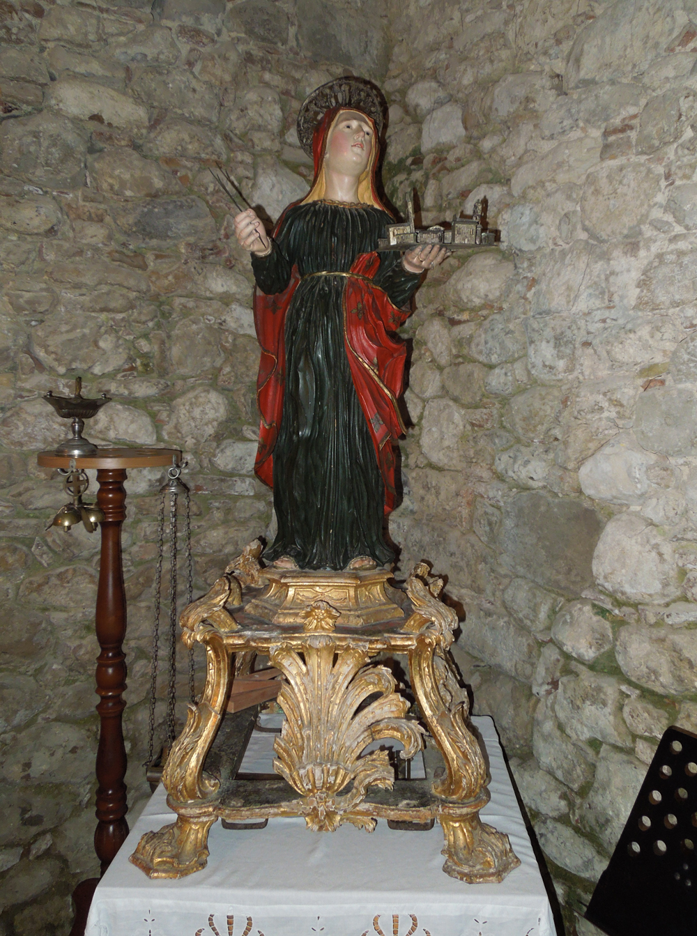 Rome Chrétienne et ses monuments - EUGENE DE LA GOURNERIE - 1867 Santa_Sinforosa_-_Tossicia
