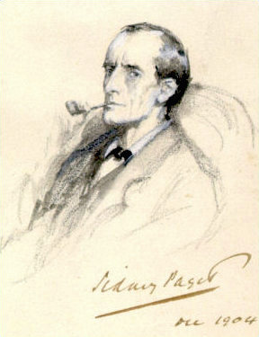 Picture of an author: Sherlock Holmes