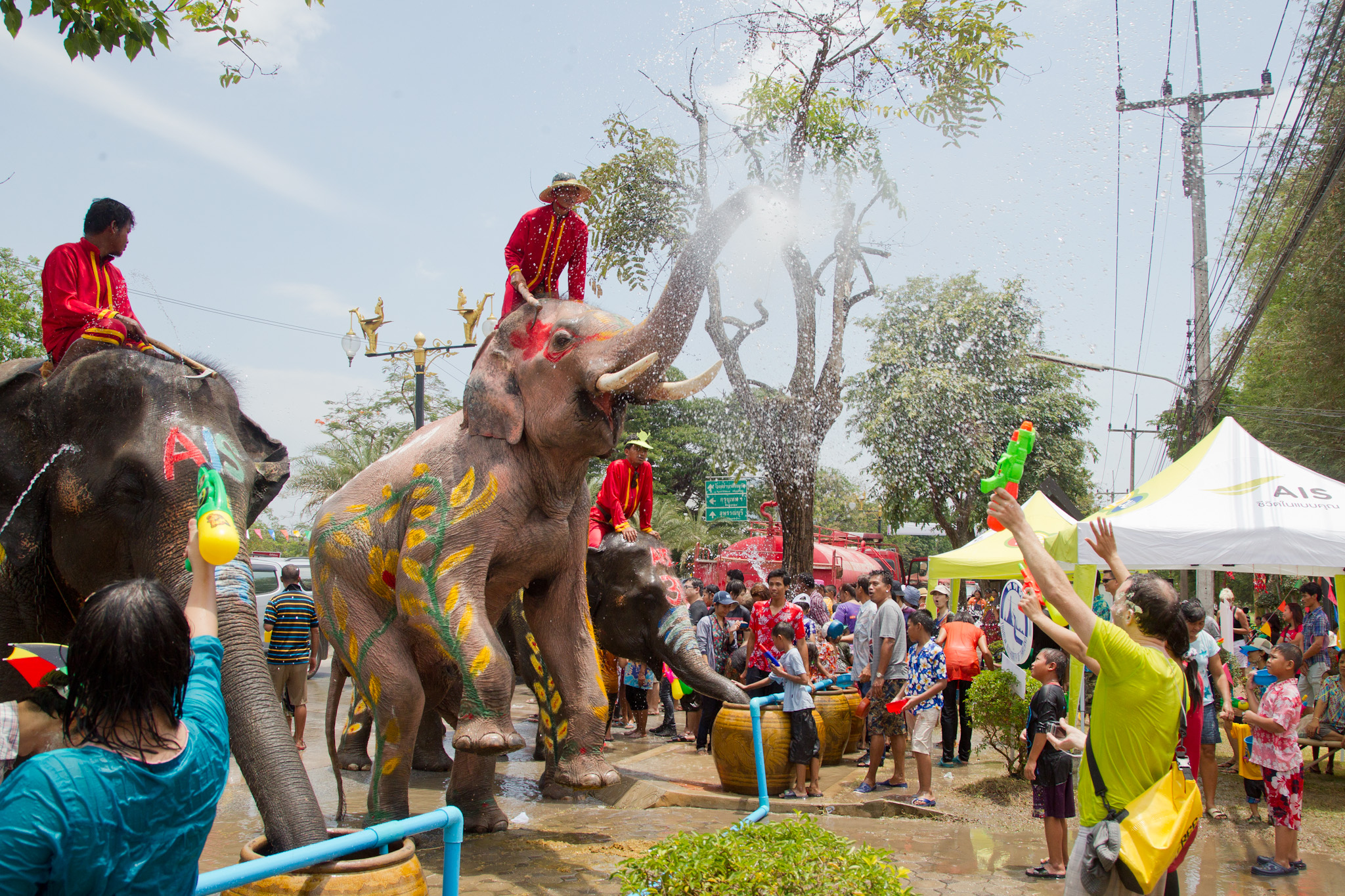 File:SONGKRAN 12 - Ayutthaya.jpg - Wikimedia Commons
