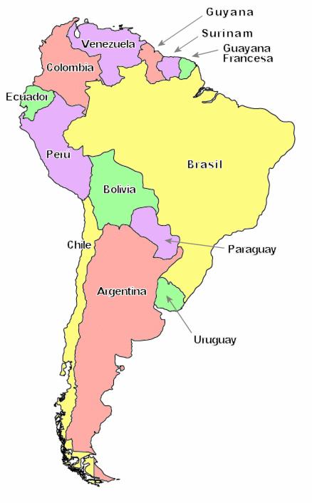 AnexoPases de Amrica del Sur por poblacin  Wikipedia la