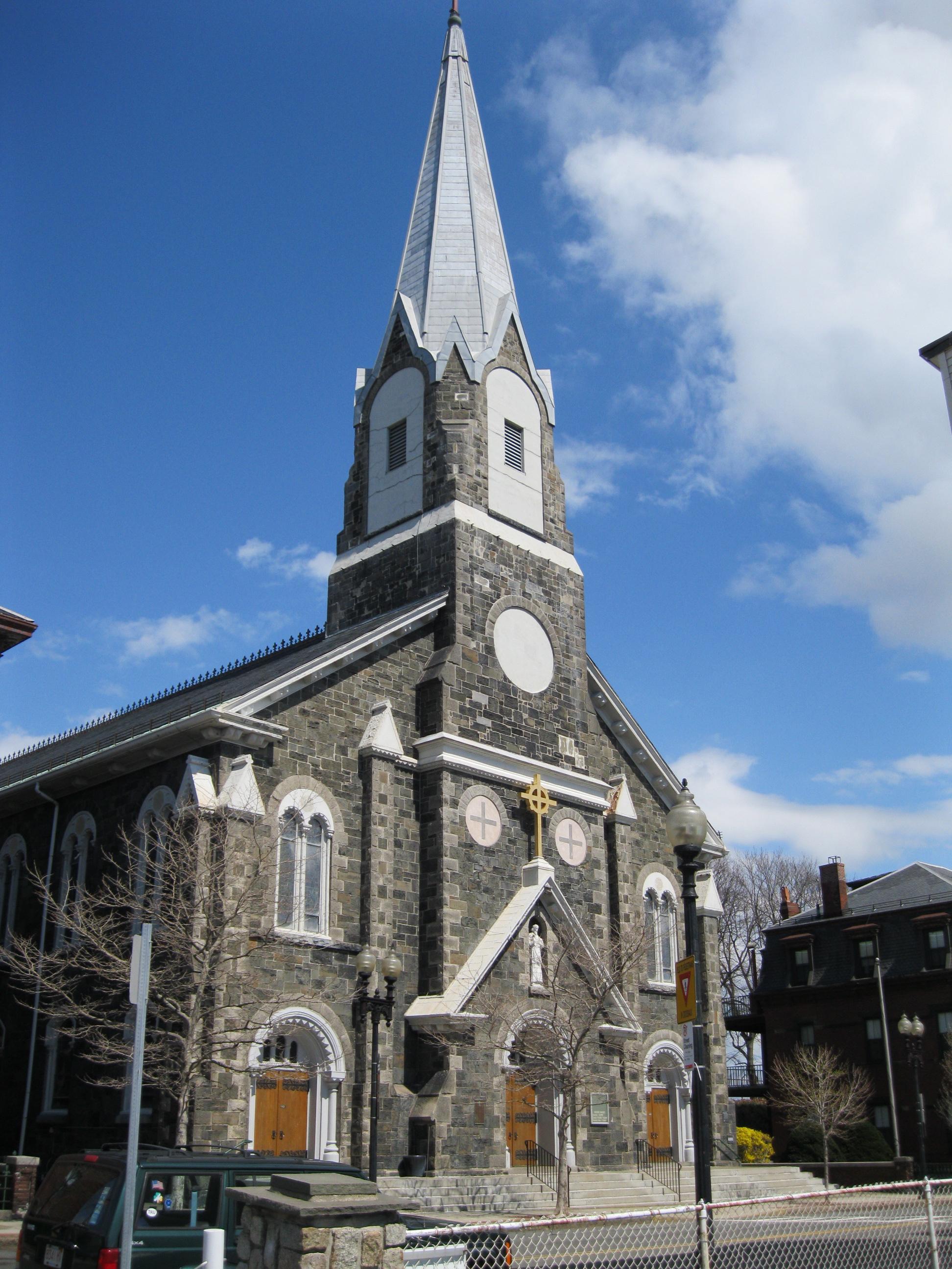 Beautiful St Francis Catholic Church #1: St._Francis_de_Sales%27_Church_%28Charlestown%2C_Massachusetts%29.jpg