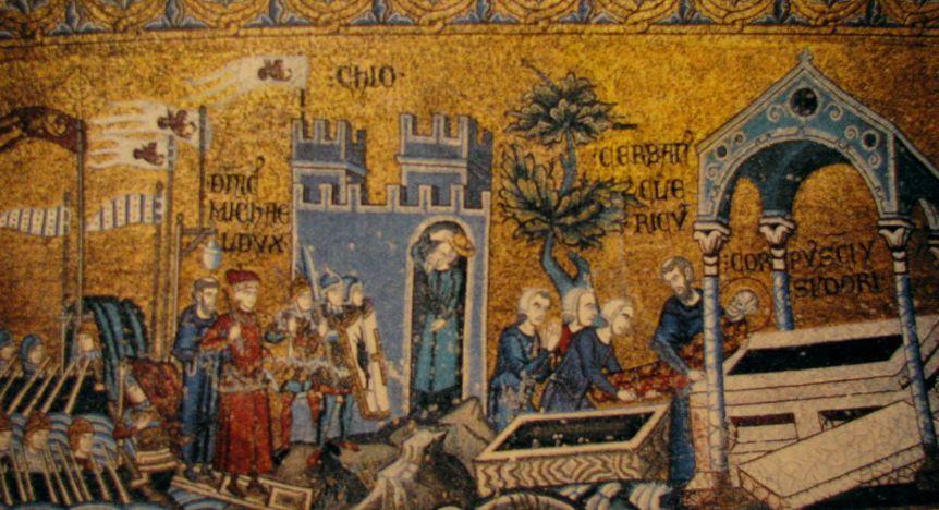 Overføring av Isidors relikvier til Venezia
