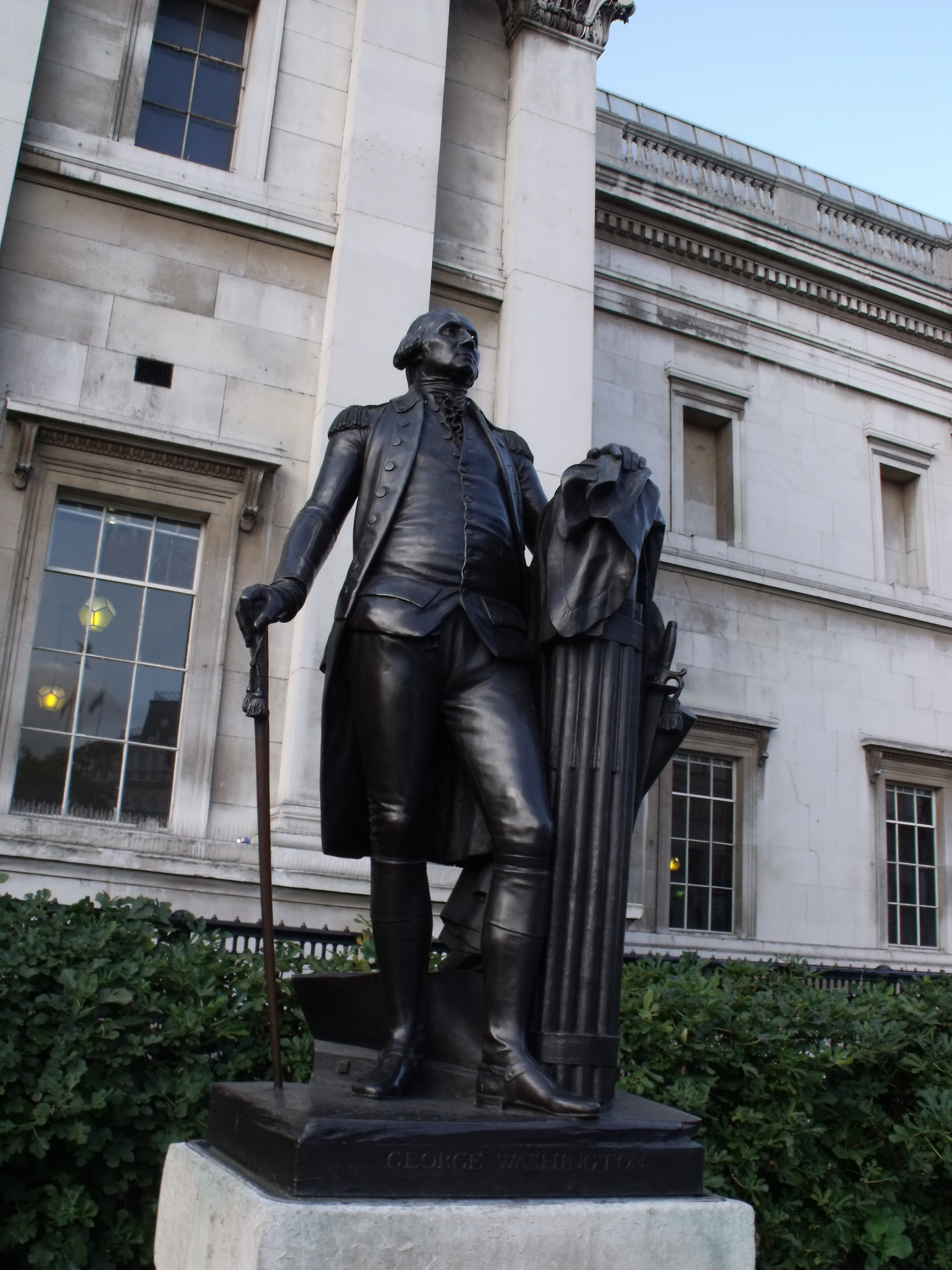 File Statue Of George Washington Outside The National