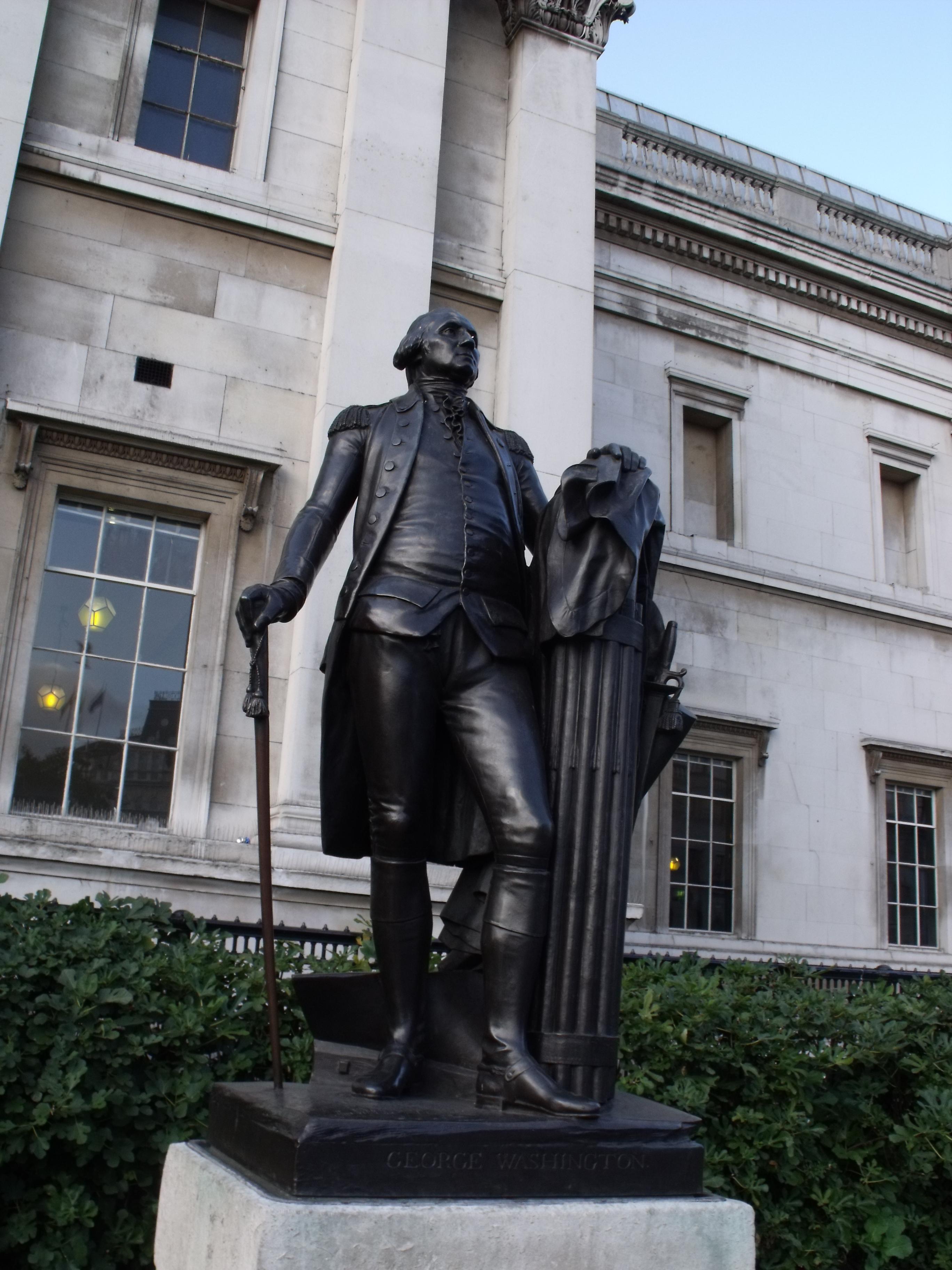 File:Statue of George Washington outside the National ...