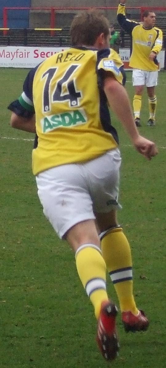 Steve Reed York City Weymouth Aldershot Town Players