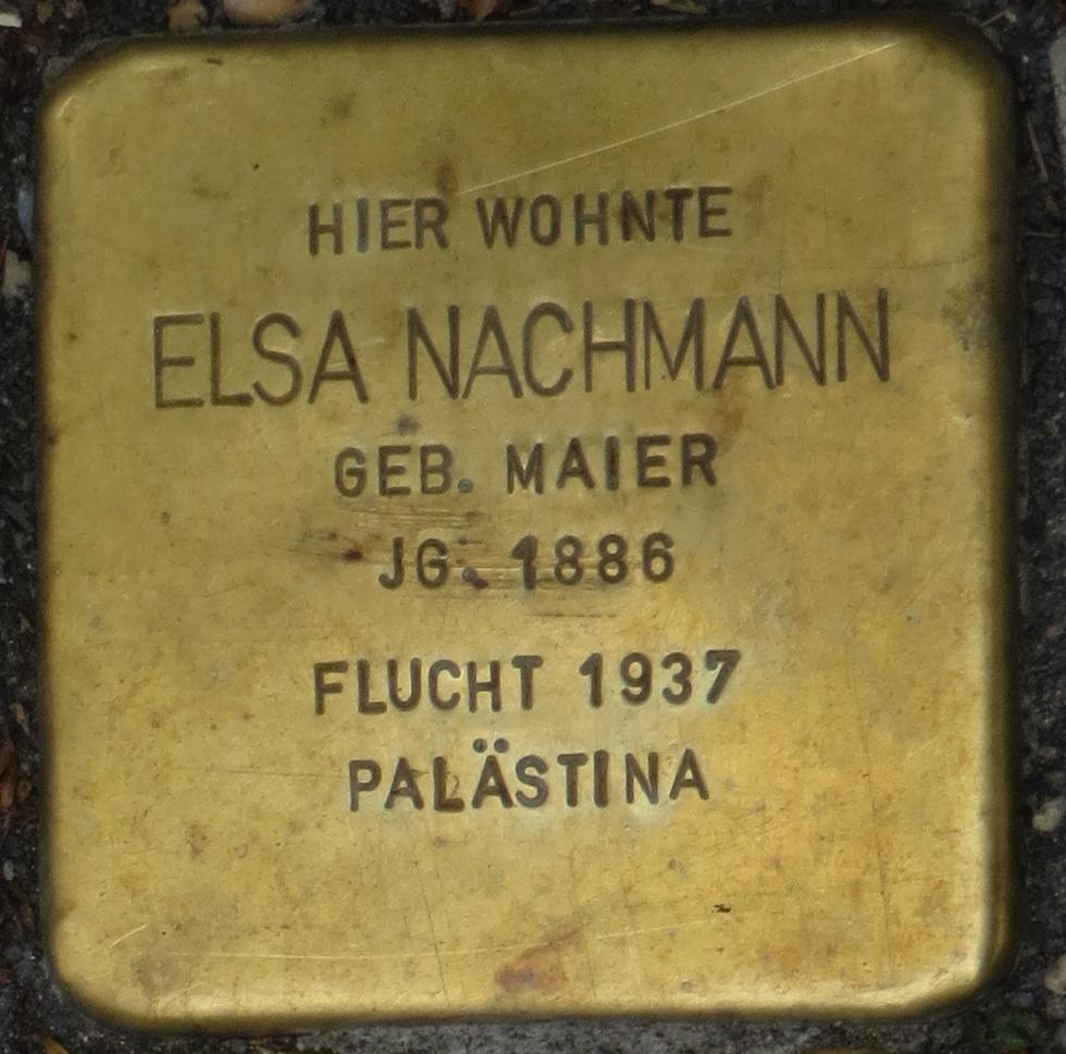 Stolperstein Rastatt Elsa Nachmann.jpg