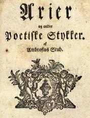 Ambrosius Stub Danish poet