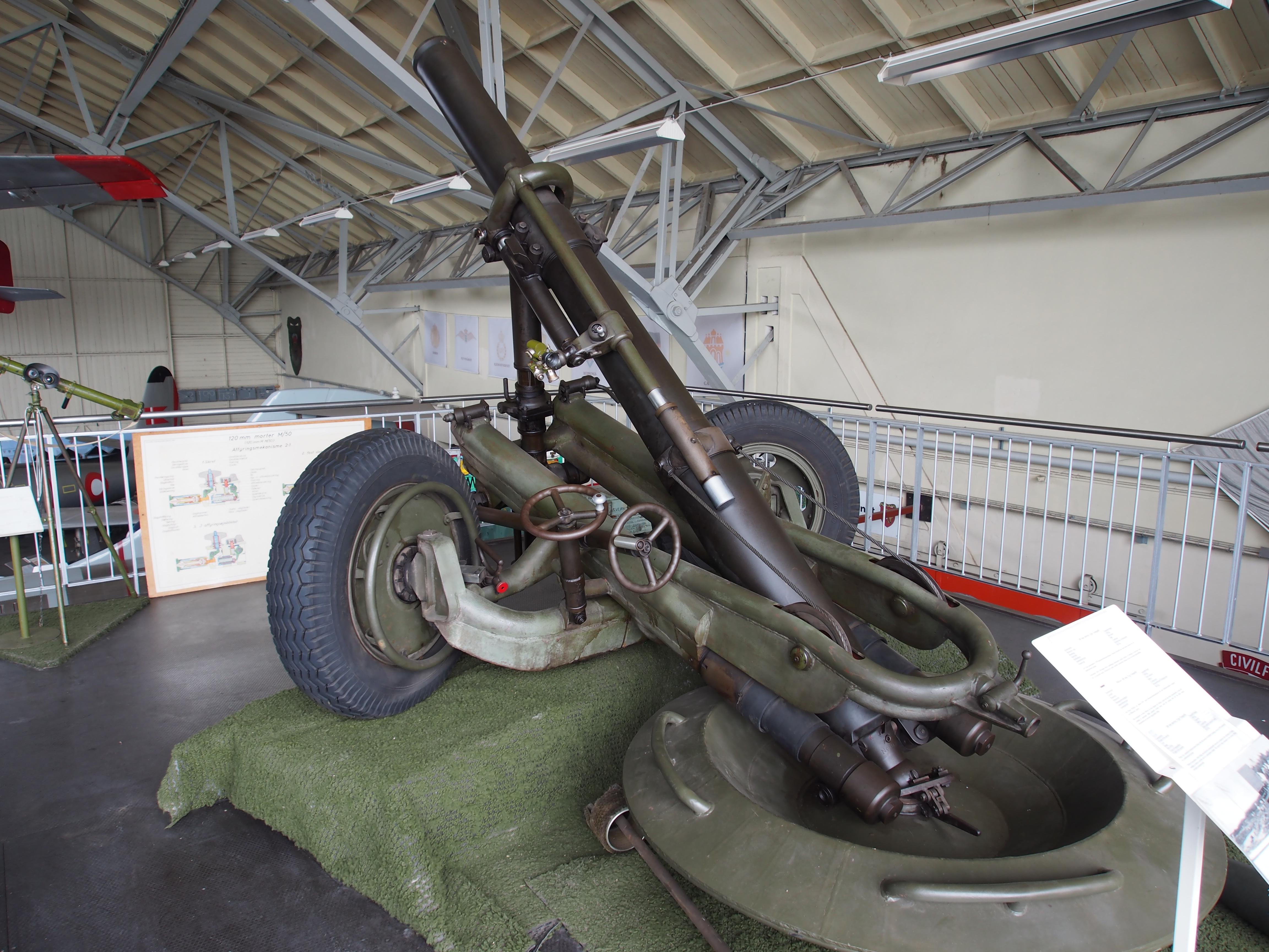 File Tampella 160mm Mortar In Aalborg Forsvars Og Garnisonsmuseum