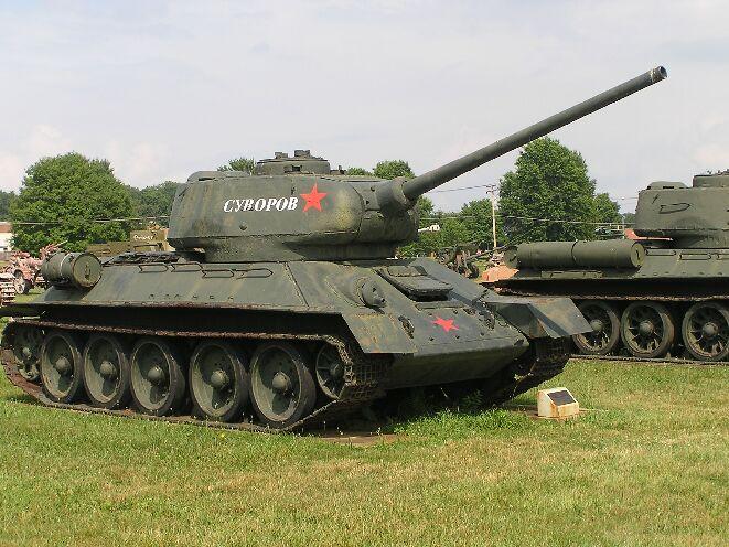 GE Fabbri.  Русские танки, журнал 13 с моделью Т-34-85.  Масштабная коллекционная модель.