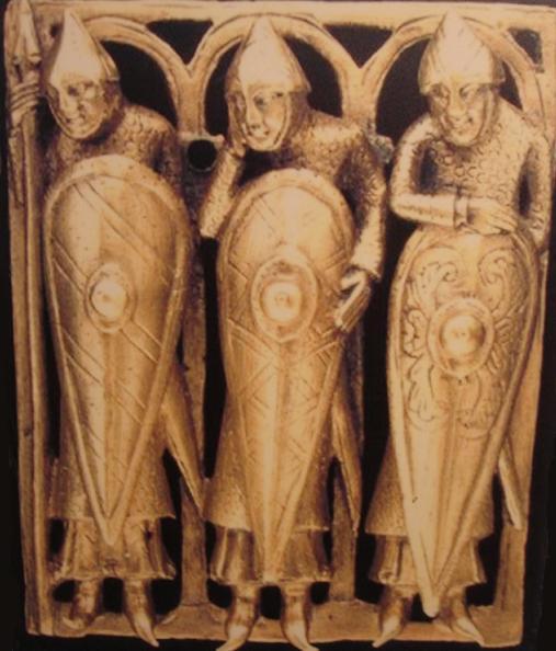 Temple Pyx, Teil eines Reliquiars (um 1140-1150)