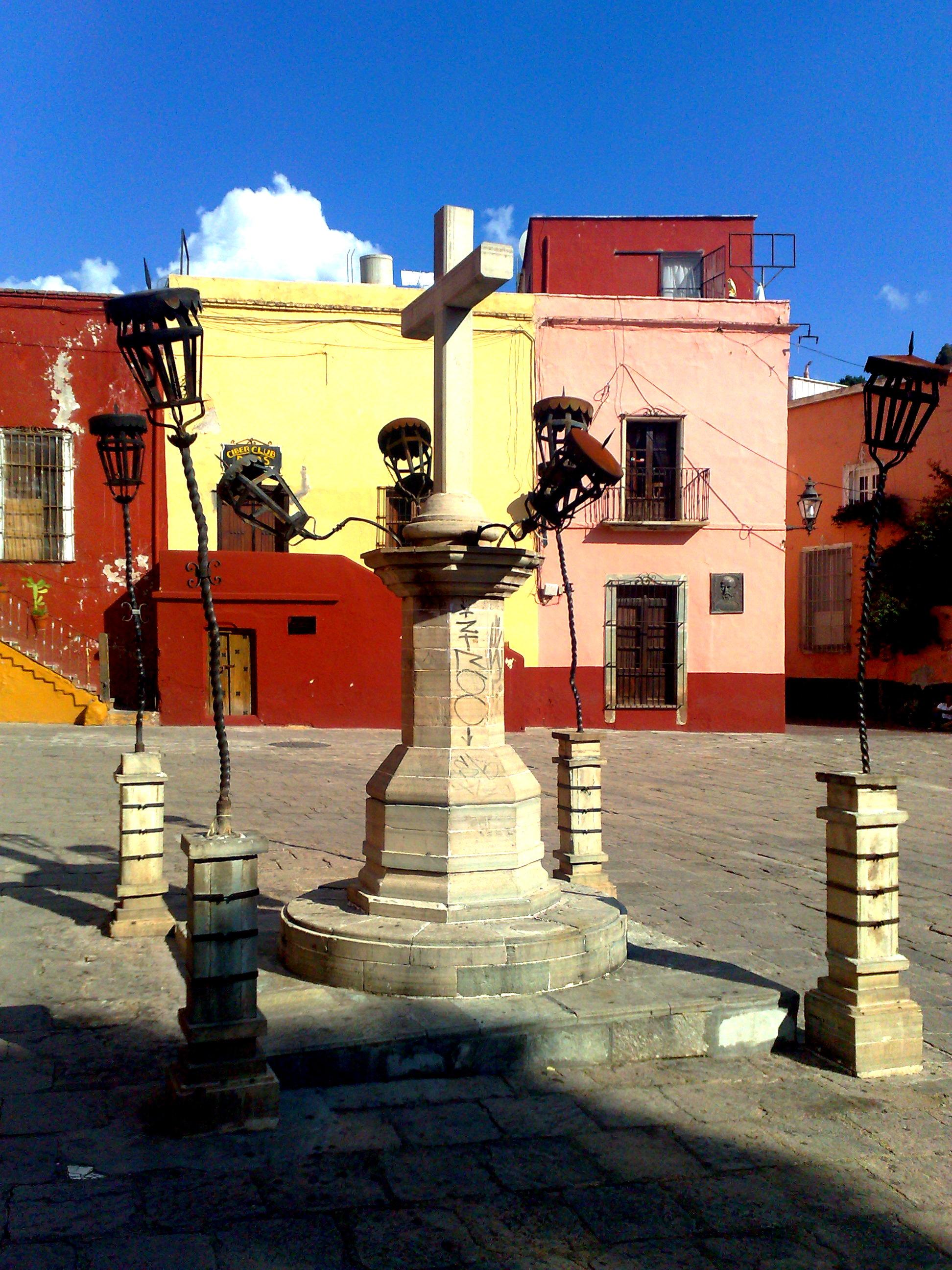 Plaza de San Roque en Guanajuato.