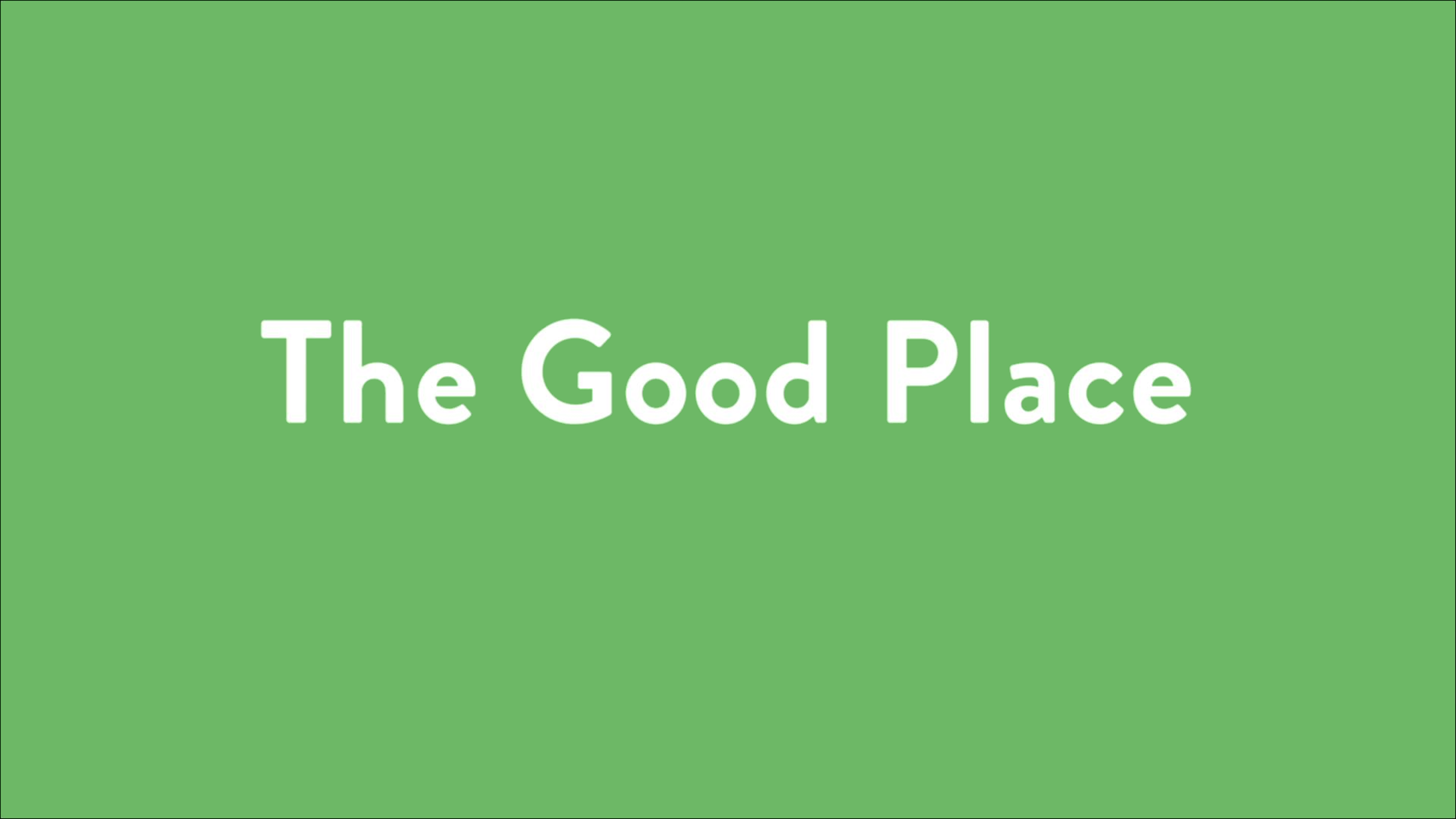 List Of The Good Place Episodes Wikipedia