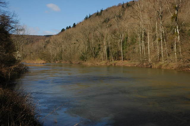 The River Wye - geograph.org.uk - 734006