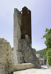 The reconstructed Triponzo Tower.jpg