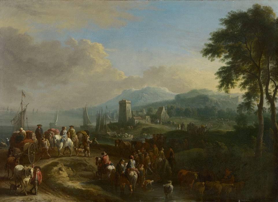 https://upload.wikimedia.org/wikipedia/commons/c/cd/Theobald_Michau_-_Bucht_vor_einer_kleinen_K%C3%BCstenstadt_-_4993_-_Bavarian_State_Painting_Collections.jpg