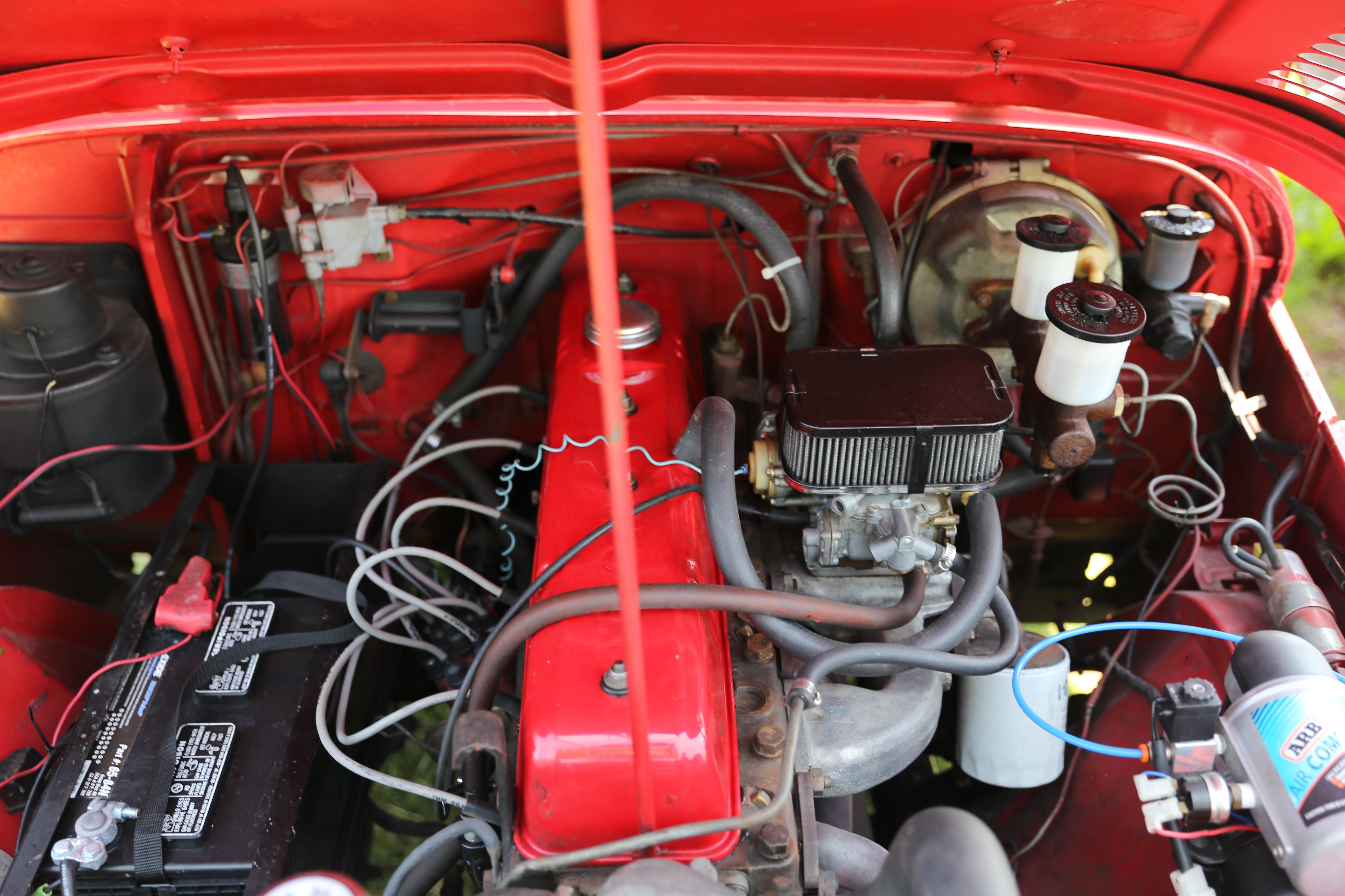 Filetoyota F Engine In A 1971 Land Cruiser Wikimedia Commons Toyota