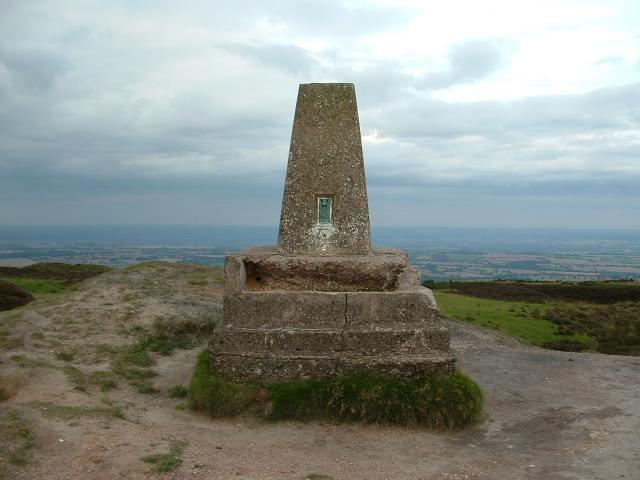 Trig Point on Brown Clee Hill - geograph.org.uk - 321