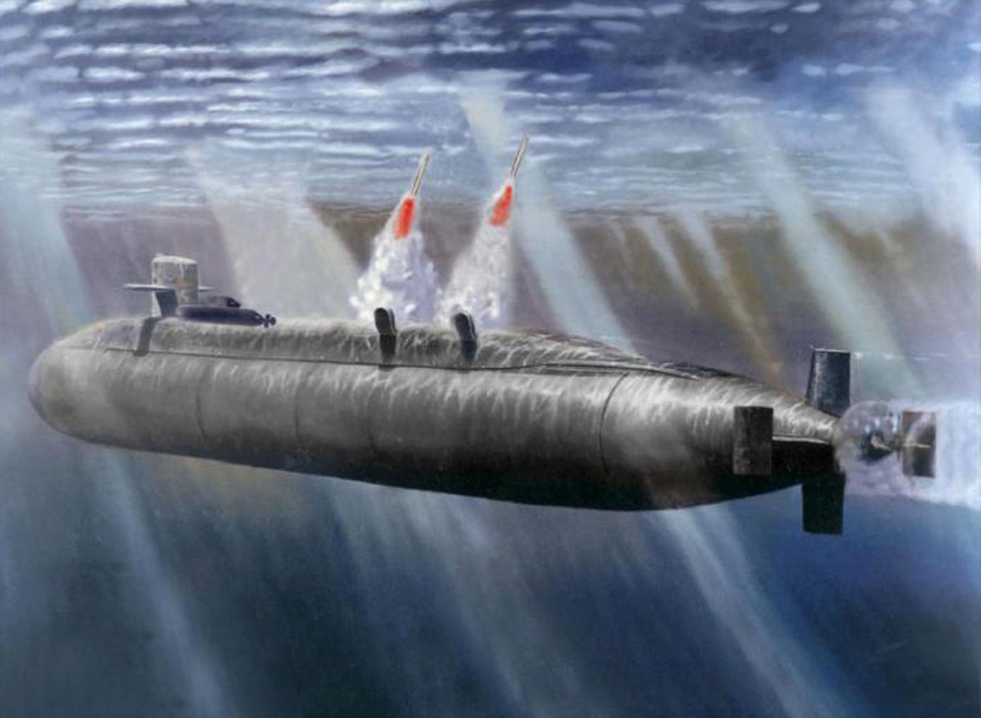американские подводные лодки типа огайо