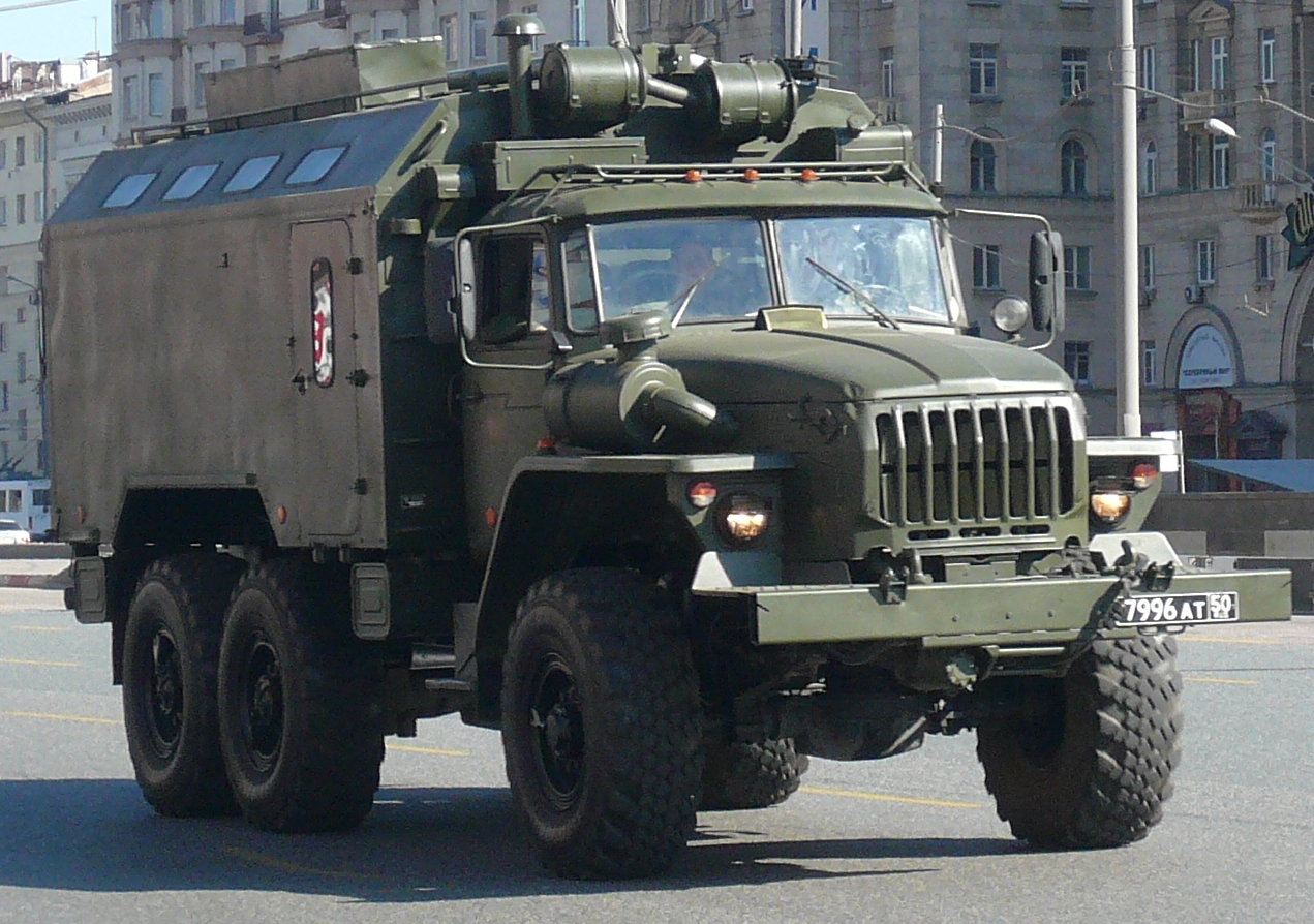 Army Vehicles For Sale >> File:Ural-4320-armoured-Russian Army.jpg - Wikimedia Commons