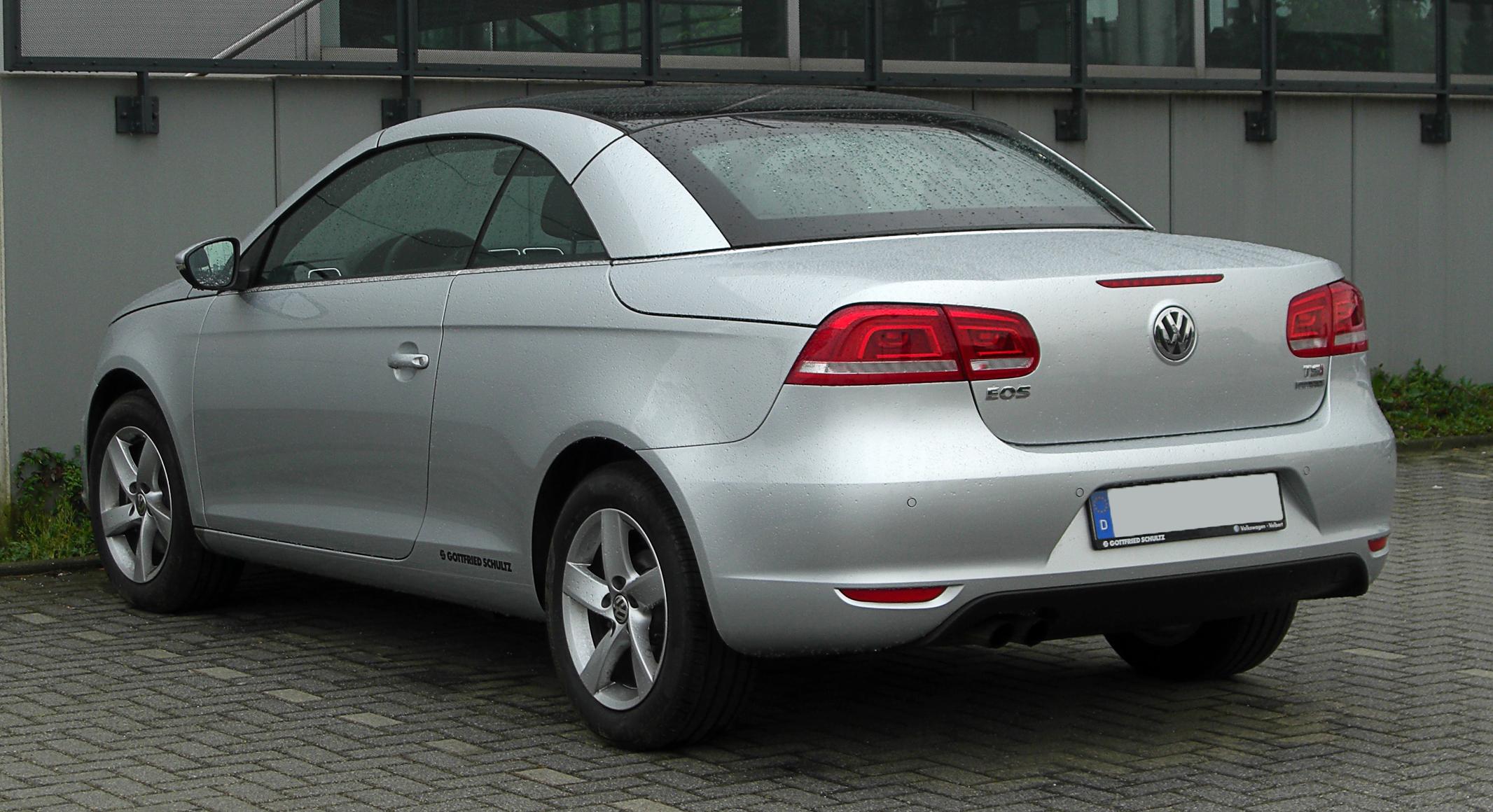 File:VW Eos 1.4 TSI BlueMotion Technology (Facelift) – Heckansicht, 27. April 2011, Velbert.jpg ...