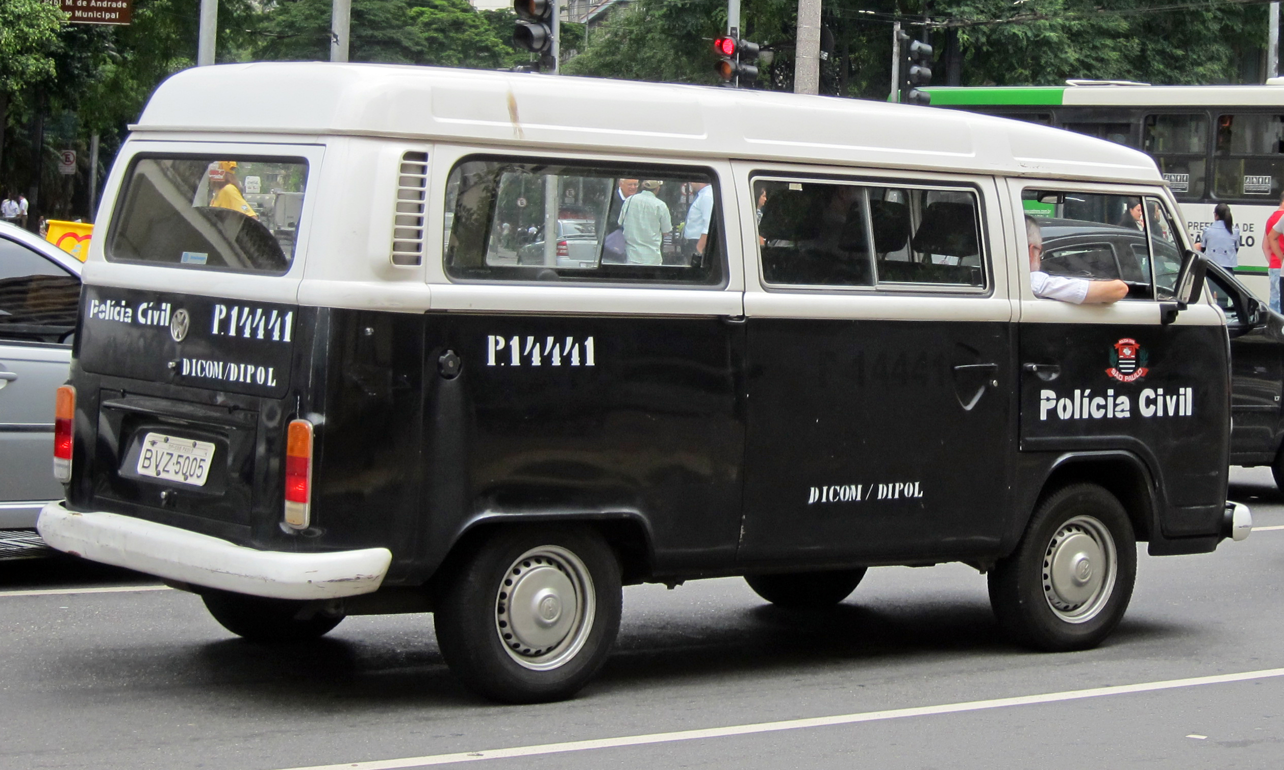 File Vw T2 Civil Police S 227 O Paulo Rear Jpg Wikimedia