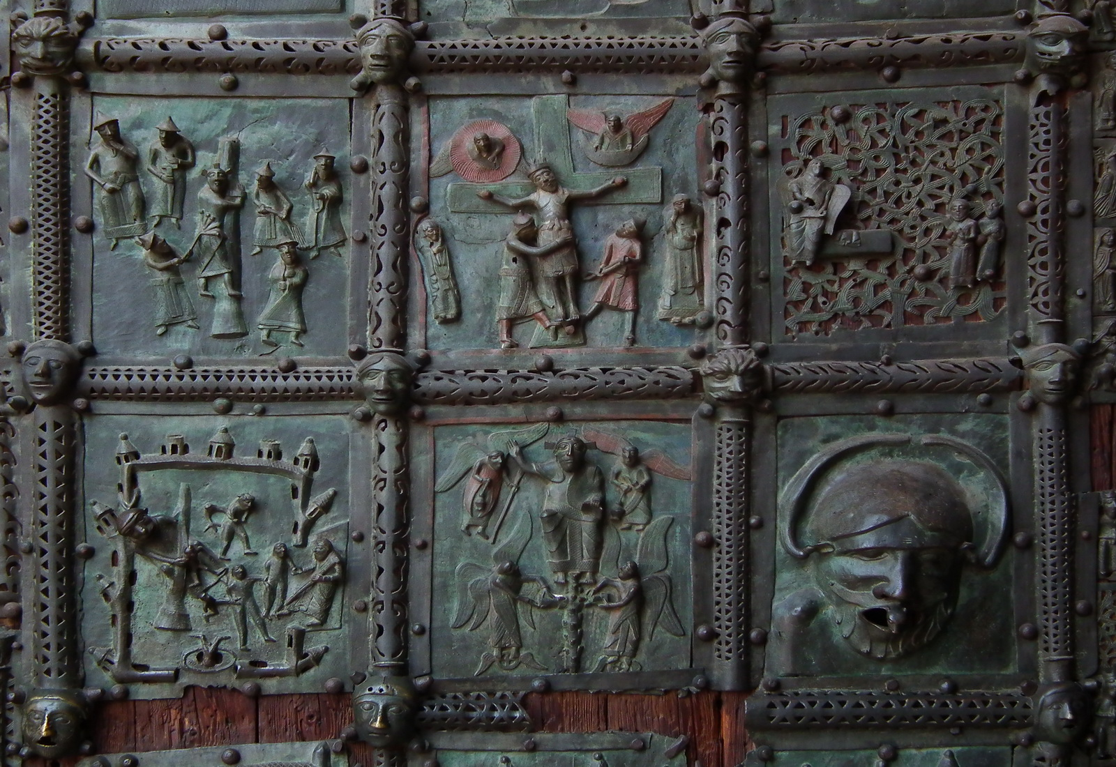 FileVerona Basilica di San Zeno bronze door 012.JPG & File:Verona Basilica di San Zeno bronze door 012.JPG - Wikimedia ...