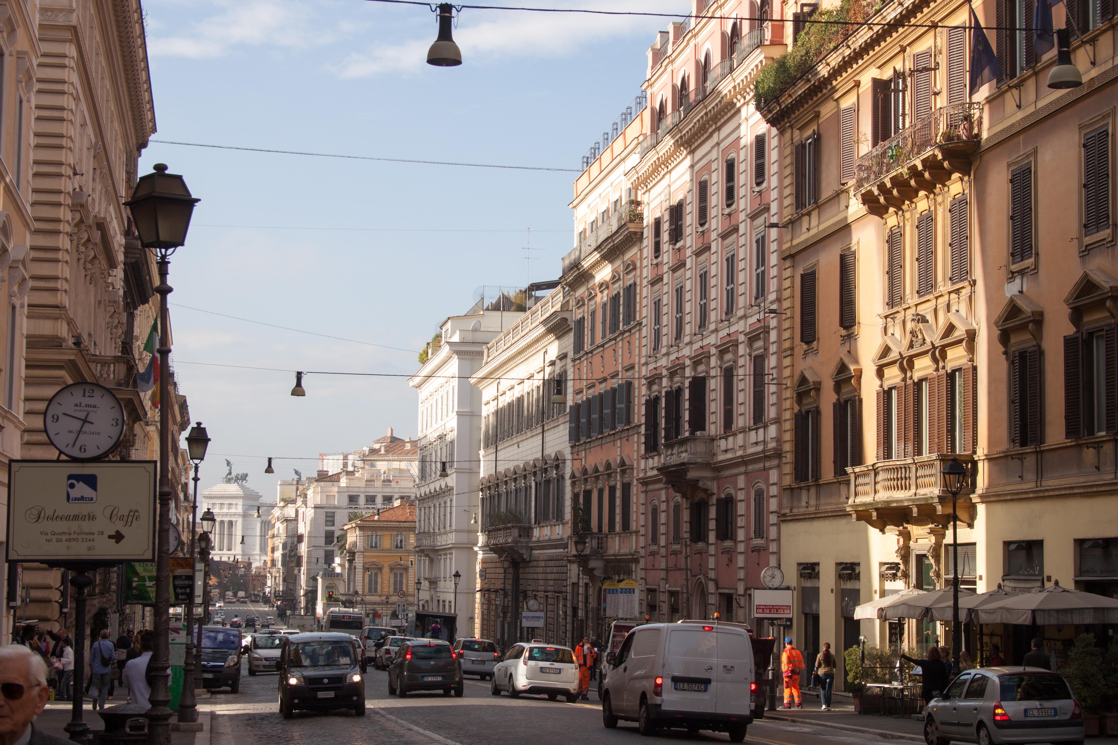Hotel Quirinale Via Nazionale Roma