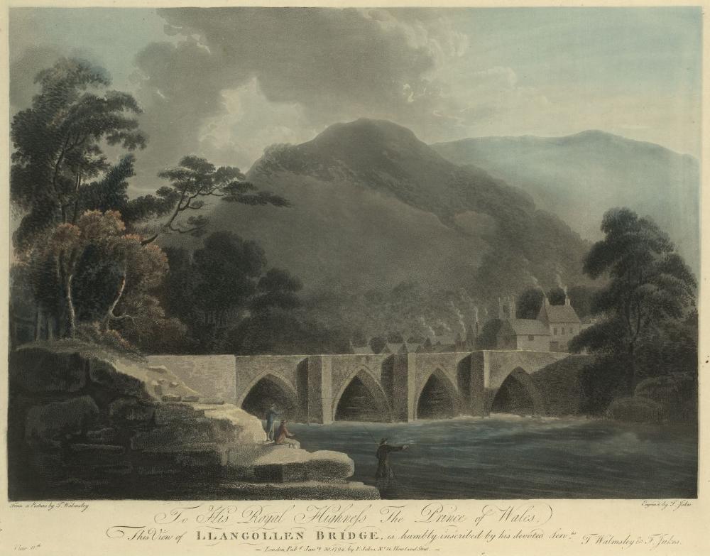 View of Llangollen Bridge