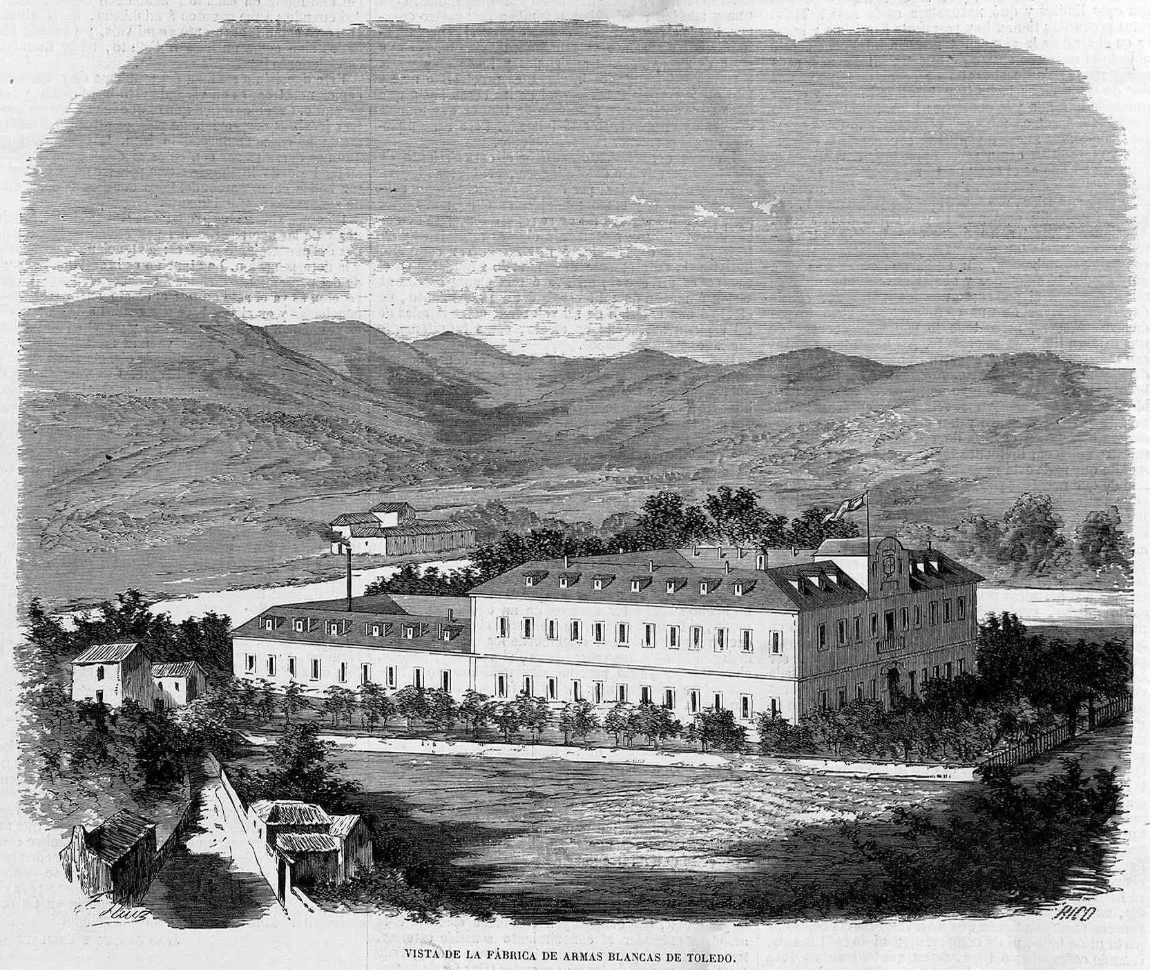 Archivo:Vista de la fábrica de armas blancas de Toledo, en ...