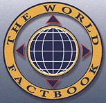 Logo of the CIA's The World Factbook.