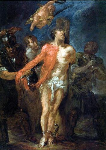 Saint Barthélemy dans immagini sacre Willmann_Flaying_Saint_Bartholomew