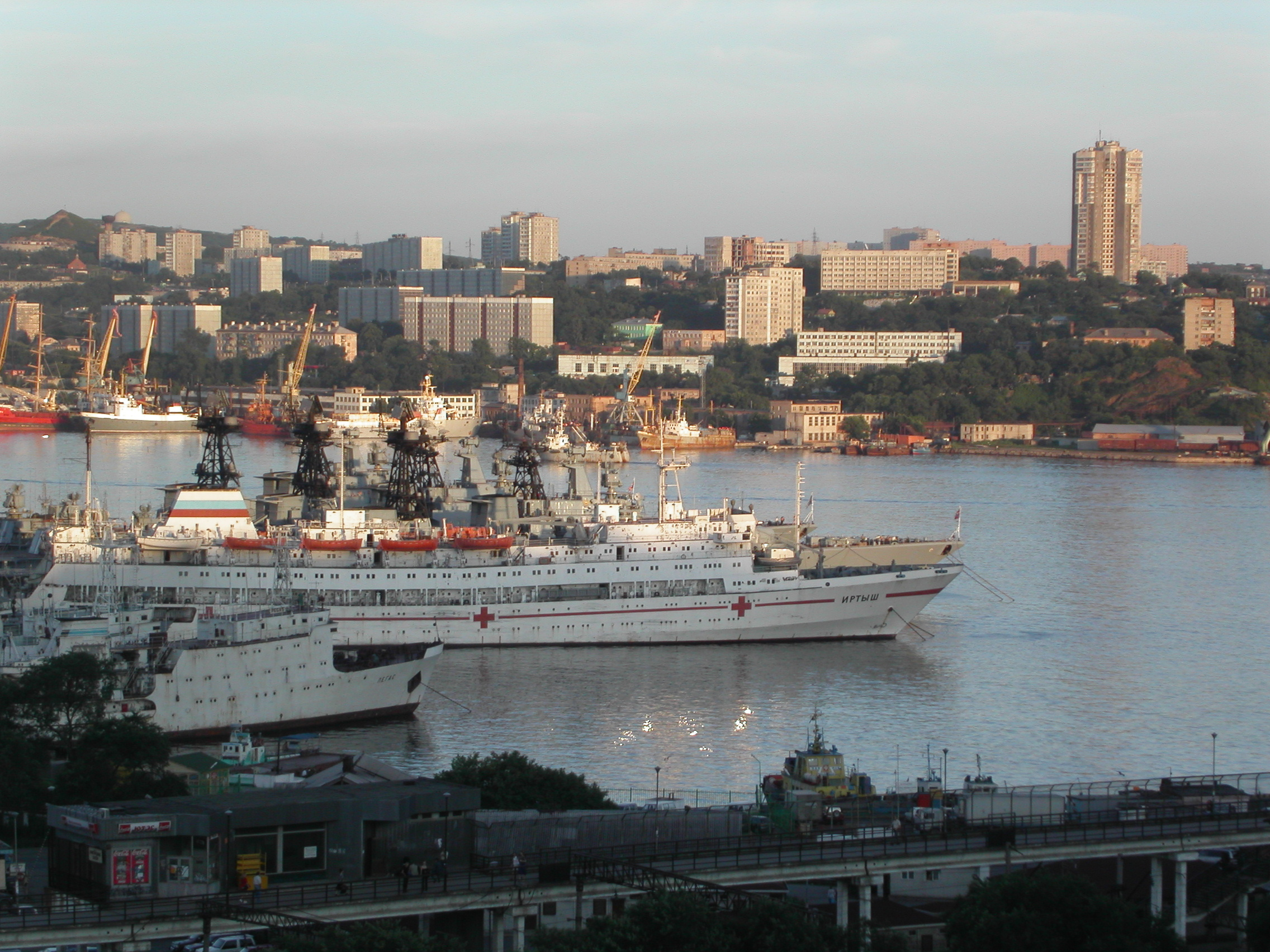 Vladivostok is one of the many