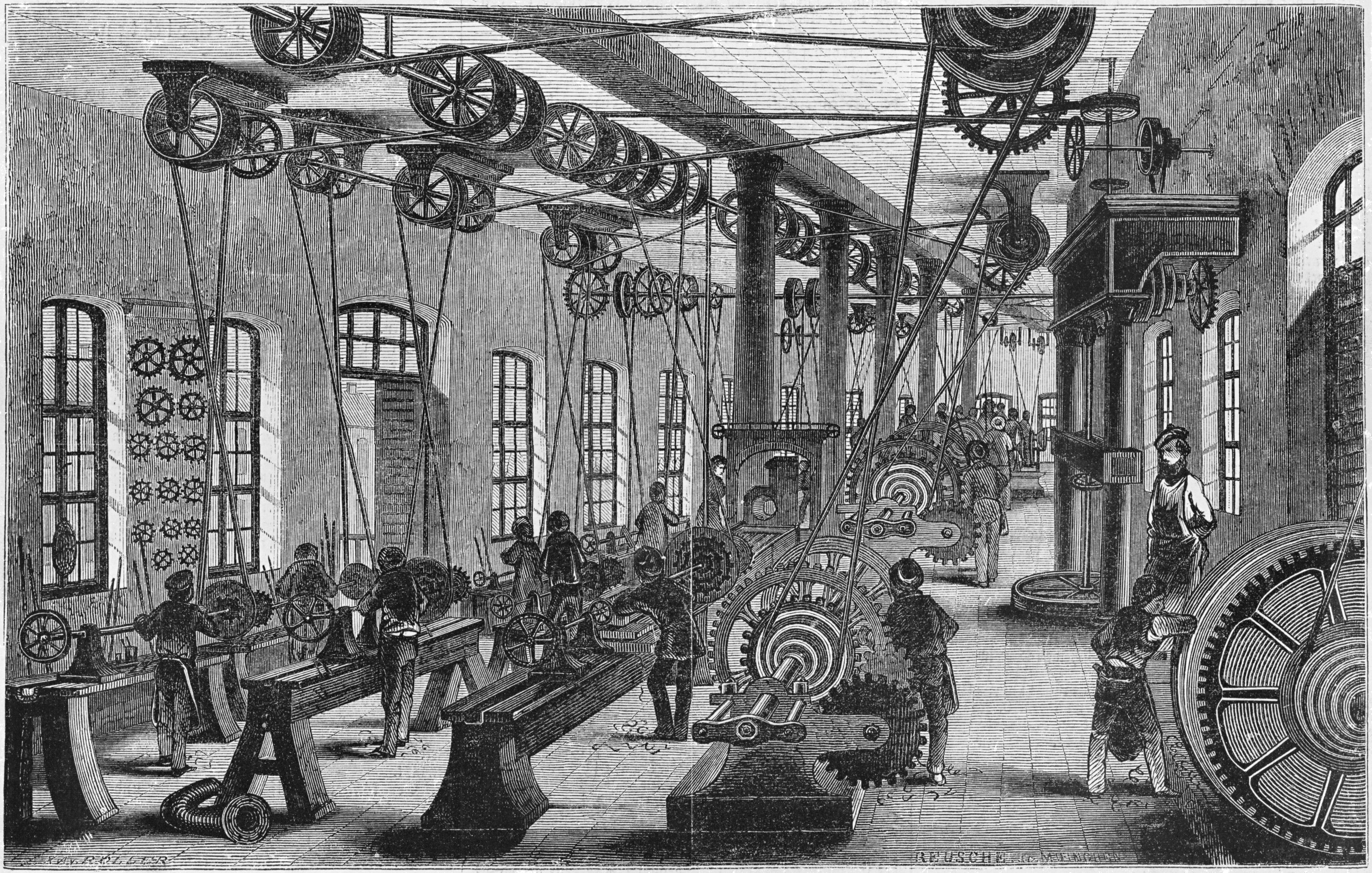 Geschichte Der Industrialisierung