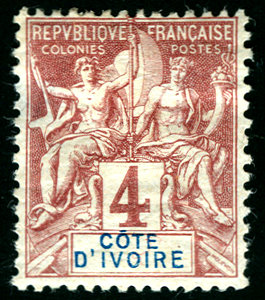 postage stamps and postal history of ivory coast wikipedia