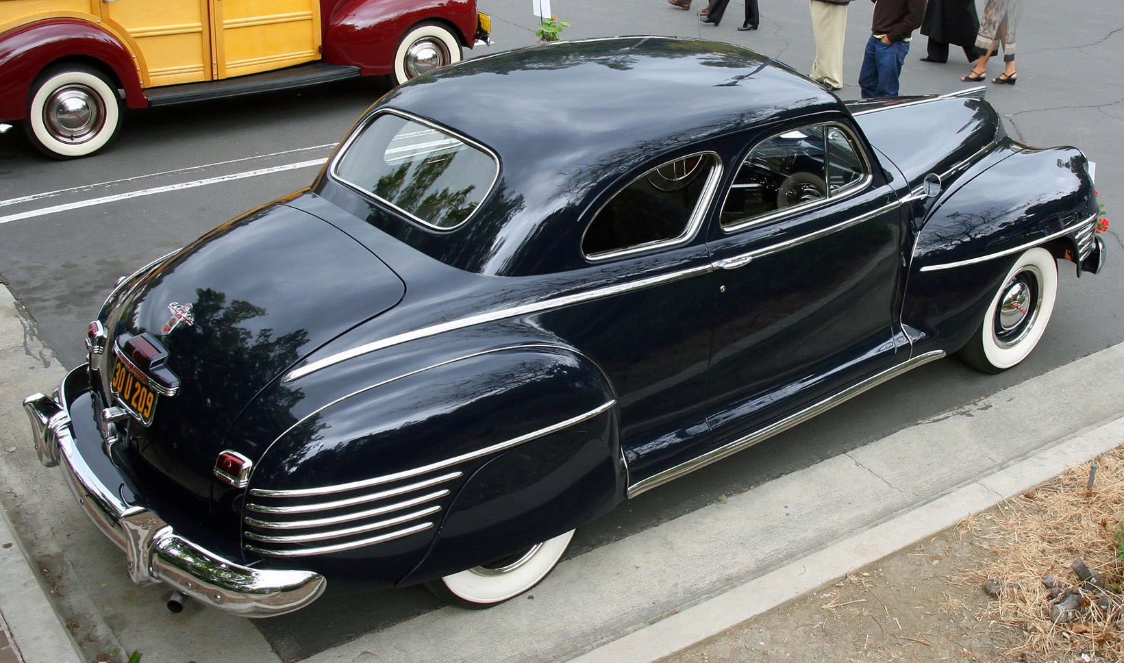 File 1942 Chrysler Windsor Coupe C34 Rear Right Top Jpg