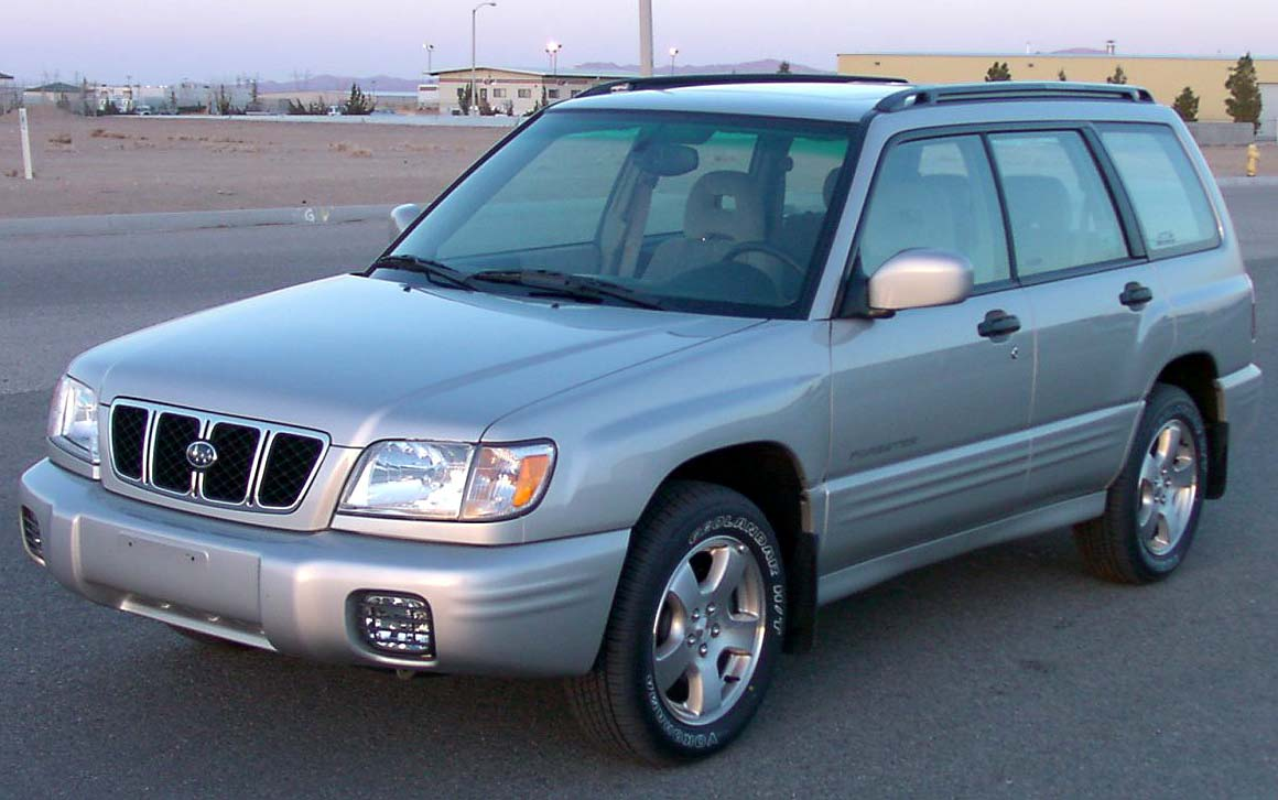 Safe Car Gov >> File:2001 Subaru Forester -- NHTSA.jpg - Wikimedia Commons