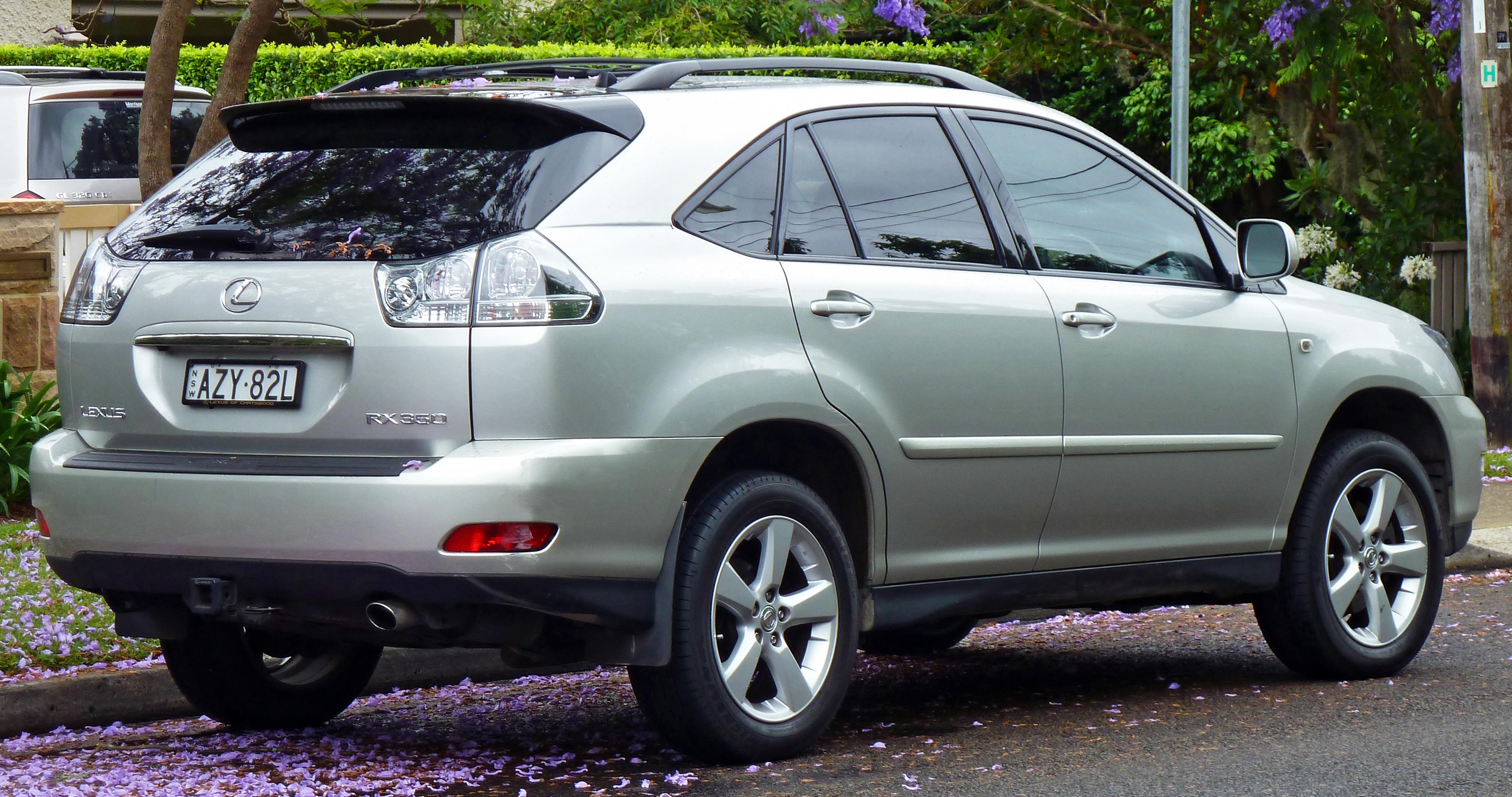 File:2006-2007 Lexus RX 350 (GSU35R) Sports Luxury wagon 01.