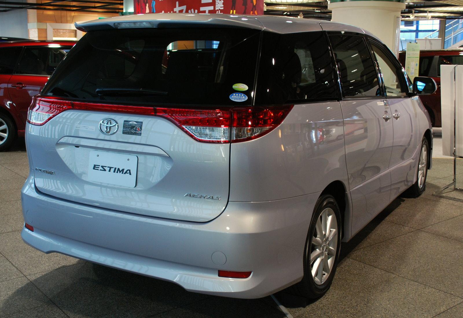 File:2008 Toyota Estima 02.jpg - Wikimedia Commons