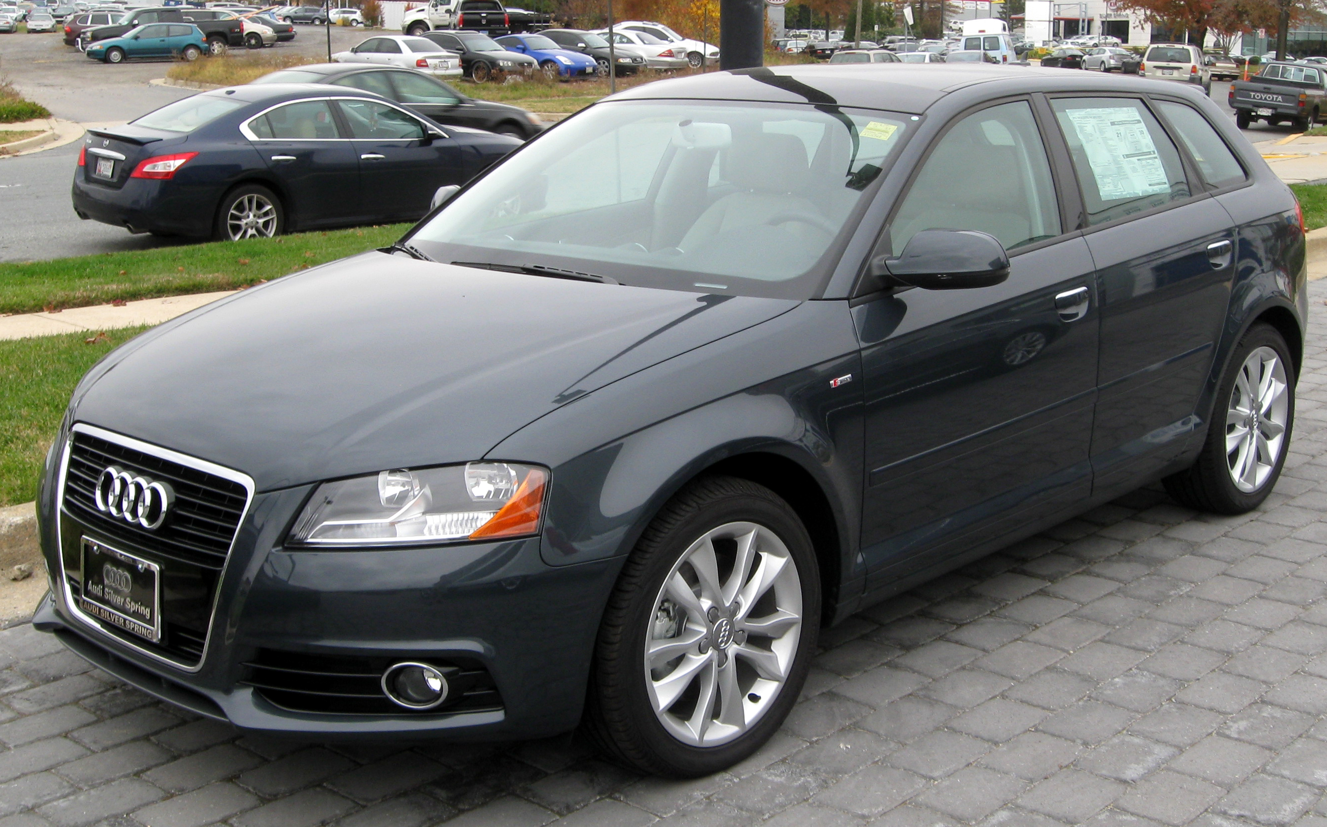 File 2012 Audi A3 11 10 2011 Jpg Wikimedia Commons