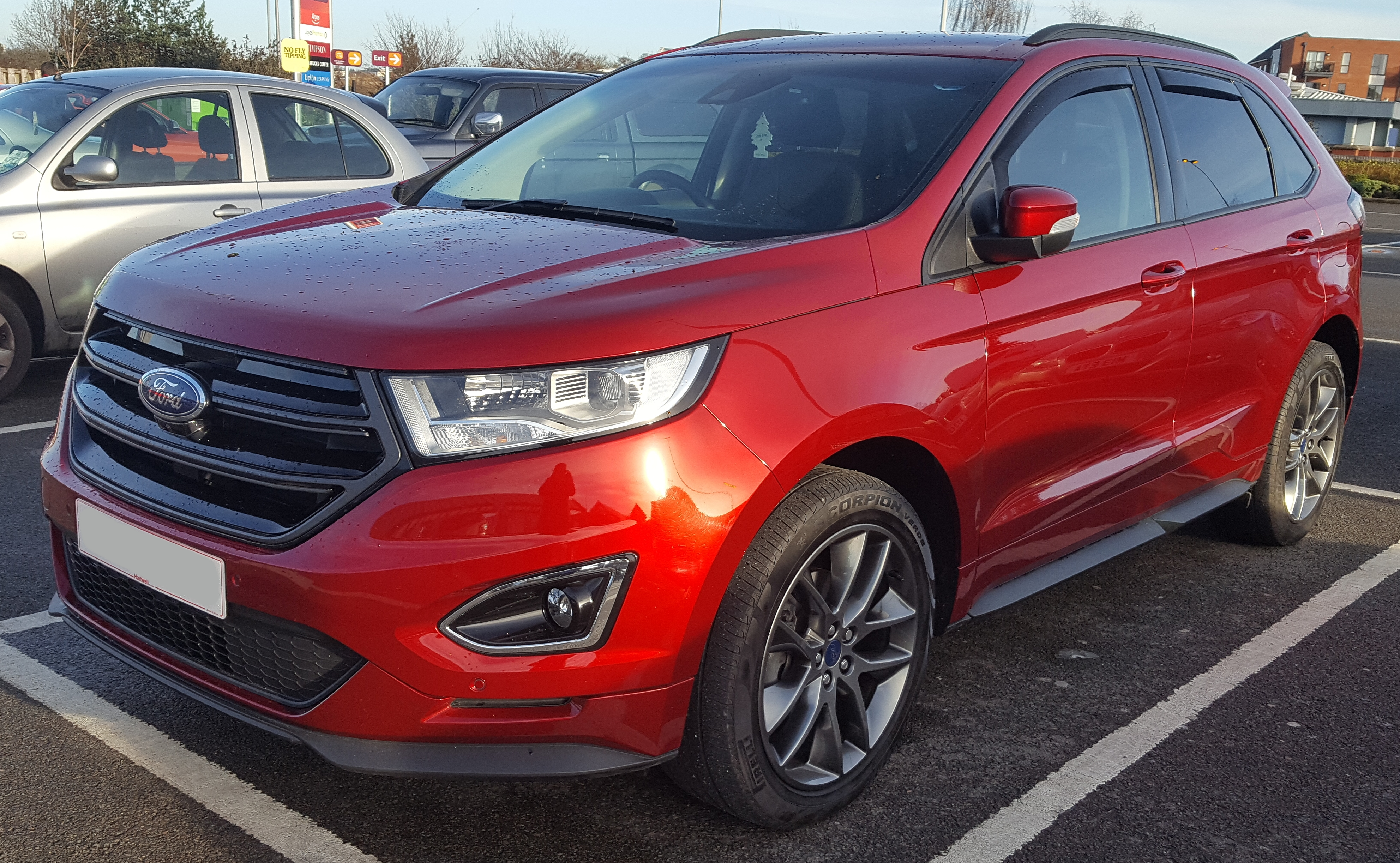 File 2016 Ford Edge Sport Tdci Automatic 2 0 Jpg
