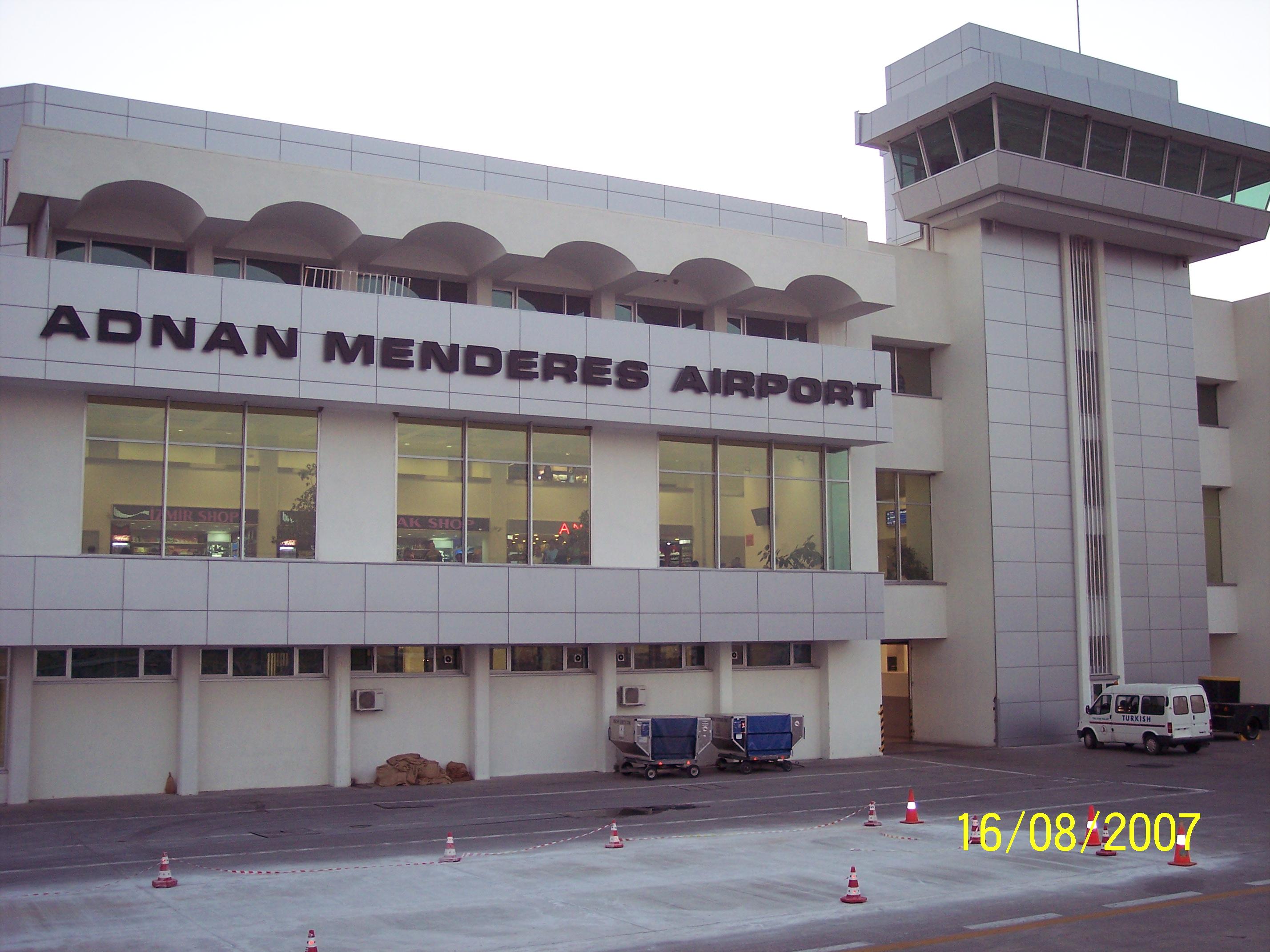 Adnan Menderes Airport Panoramio Fileadnan Airportizmir