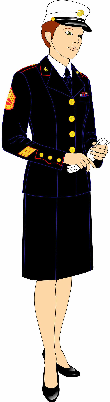 Evening Wear Dress Blues USMC